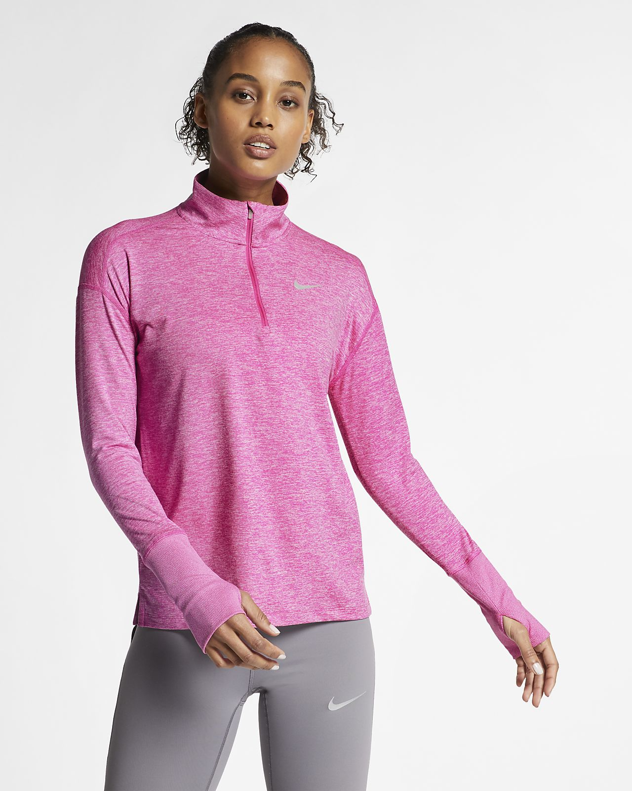 09b99af2 Nike Women's Half-Zip Running Top. Nike.com GB
