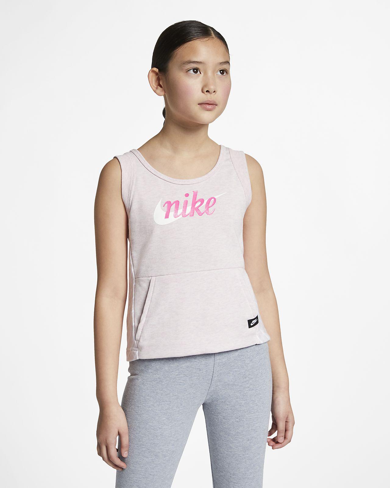 Nike Sportswear 大童(女孩)背心