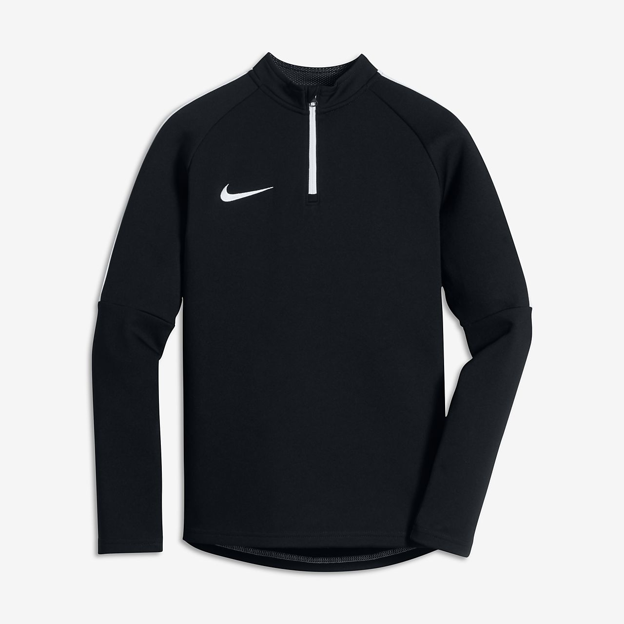 Nike Shield Strike Drill Big Kids' Soccer Tops Black/White