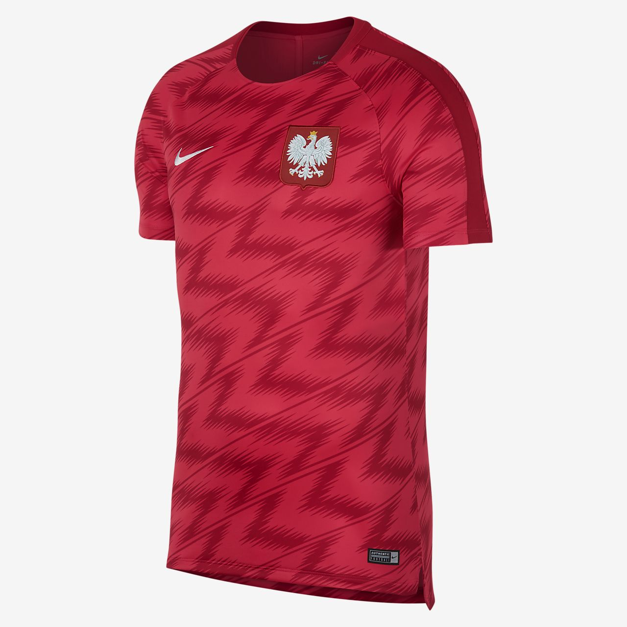 ... Poland Dri-FIT Squad Men's Football Top