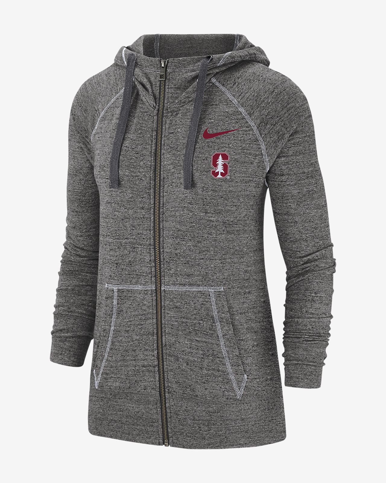 Nike College Gym Vintage (Stanford) Women's Full-Zip Hoodie