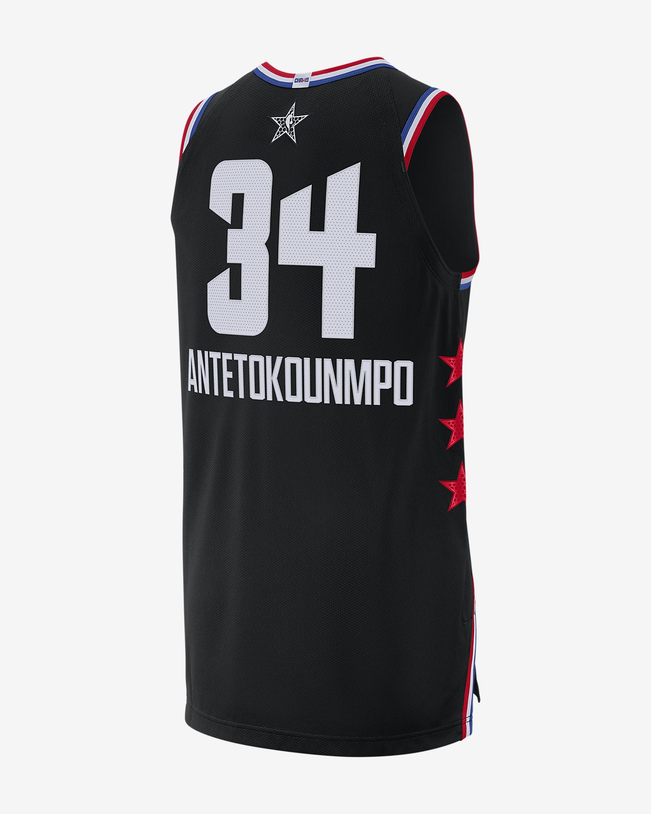 4fb66c5edf5 ... Giannis Antetokounmpo All-Star Edition Authentic Men s Jordan NBA  Connected Jersey
