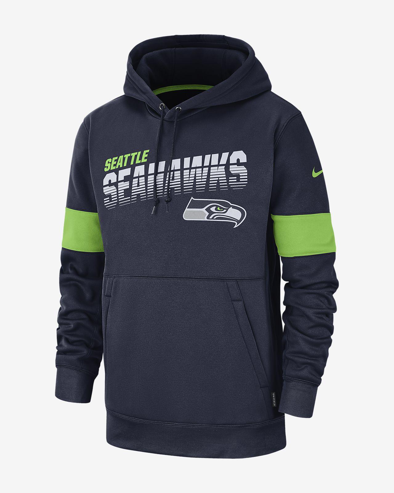 hot sale online 11011 fa037 Nike Therma (NFL Seahawks) Men's Hoodie
