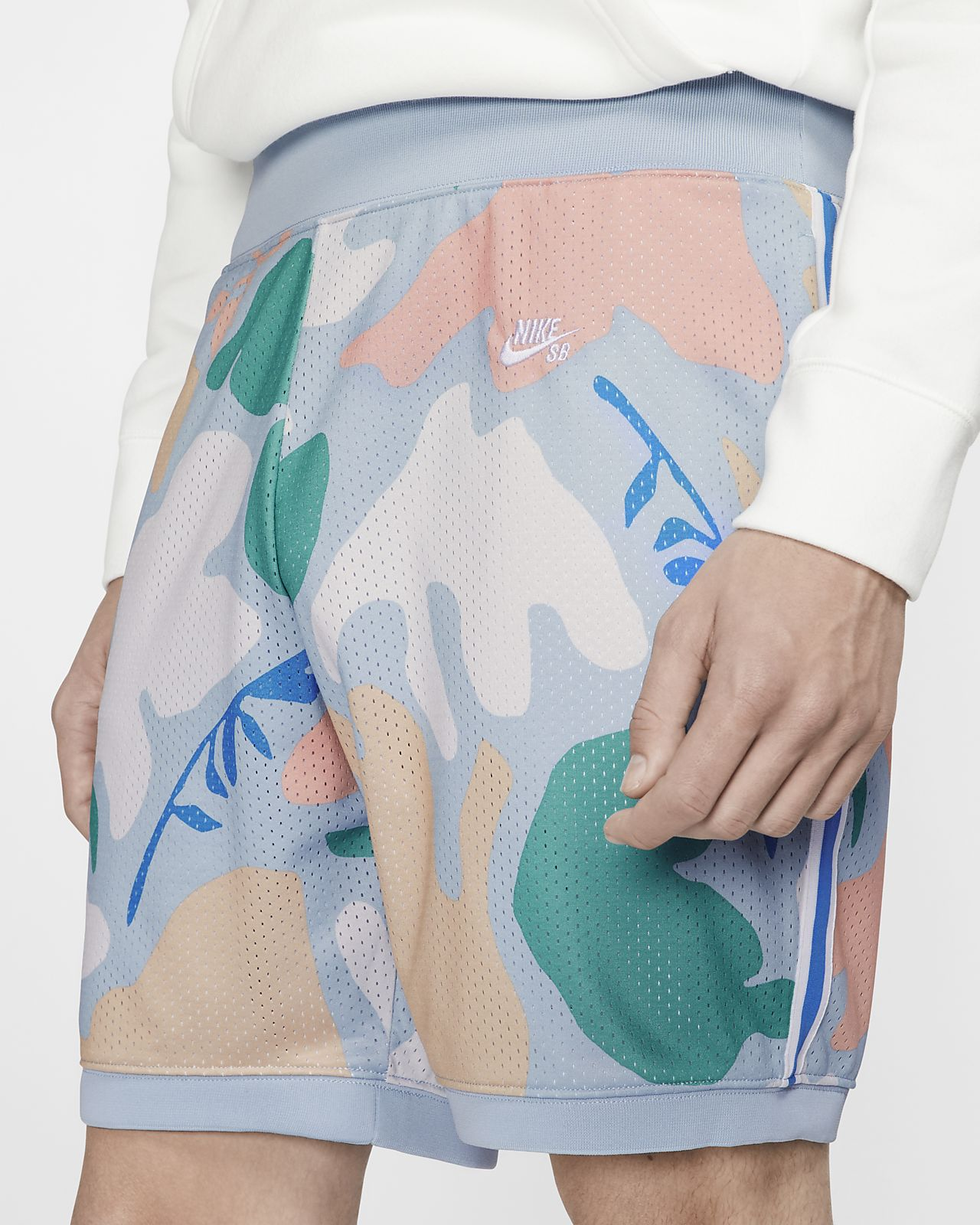 Calções de skateboard estampados Nike SB Dri-FIT para homem