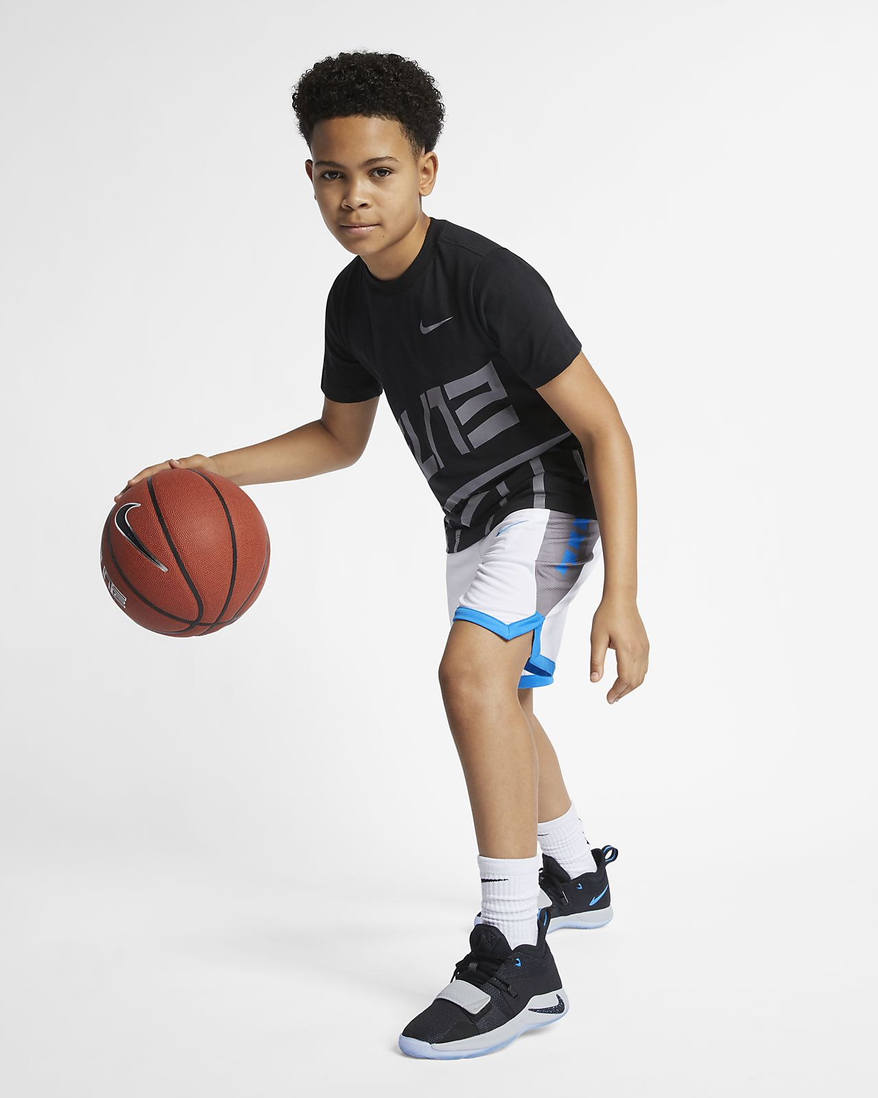 a9f049c2 Nike Dri-FIT Elite Big Kids' (Boys') Basketball T-Shirt. Nike.com