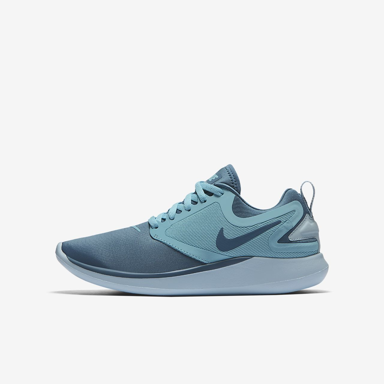 Nike LunarSolo Boys Running Shoes Blue bG1152H