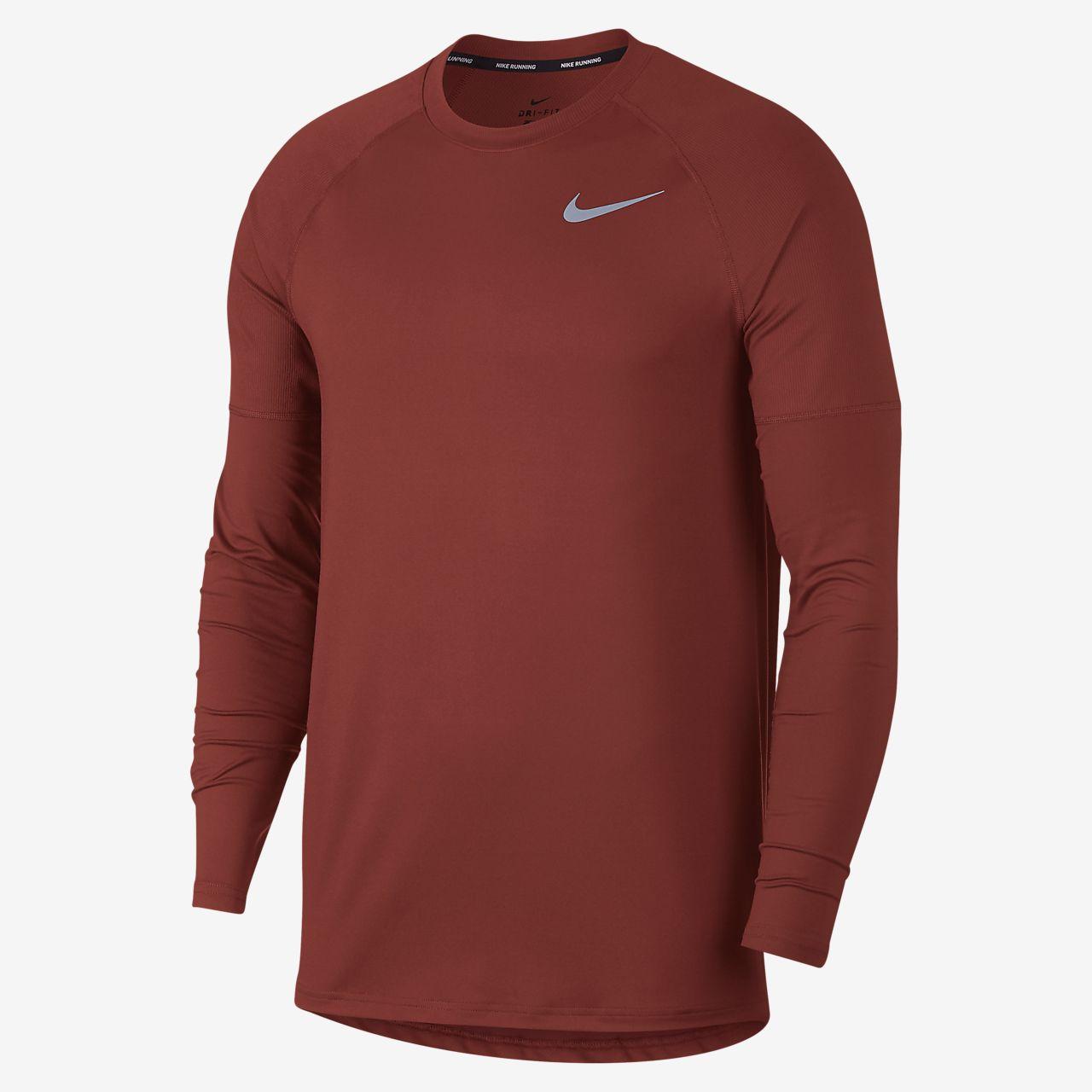 Ανδρική μπλούζα για τρέξιμο Nike