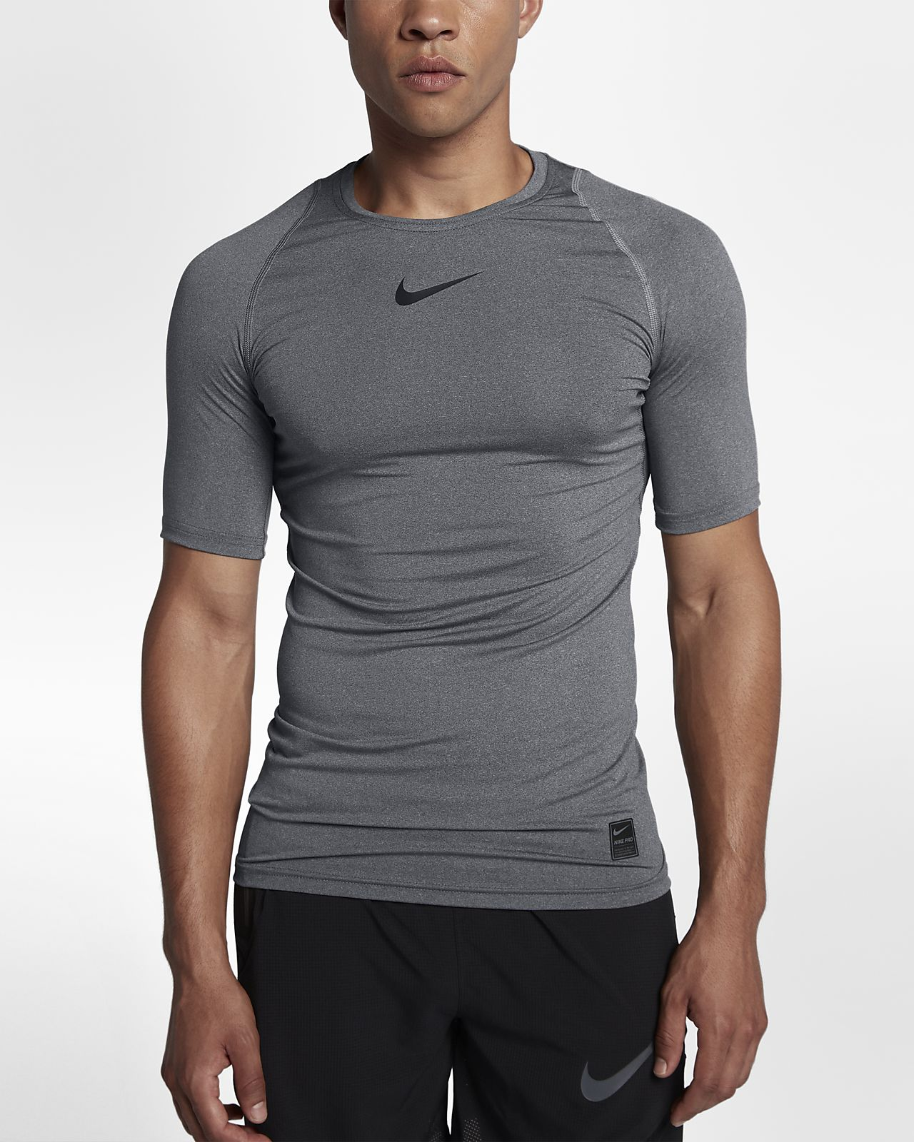 new product best sell good texture Nike Pro Men's Short-Sleeve Training Top