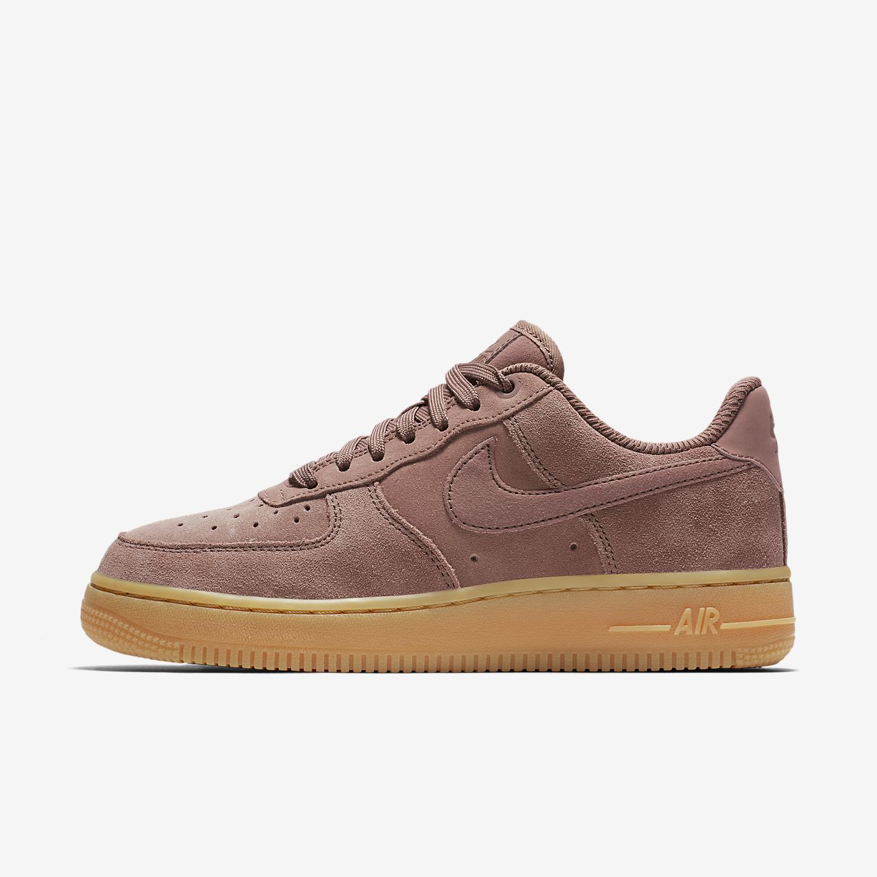 Nike Air Force 1  07 SE Suede Women s Shoe. Nike.com SG 679a45f551