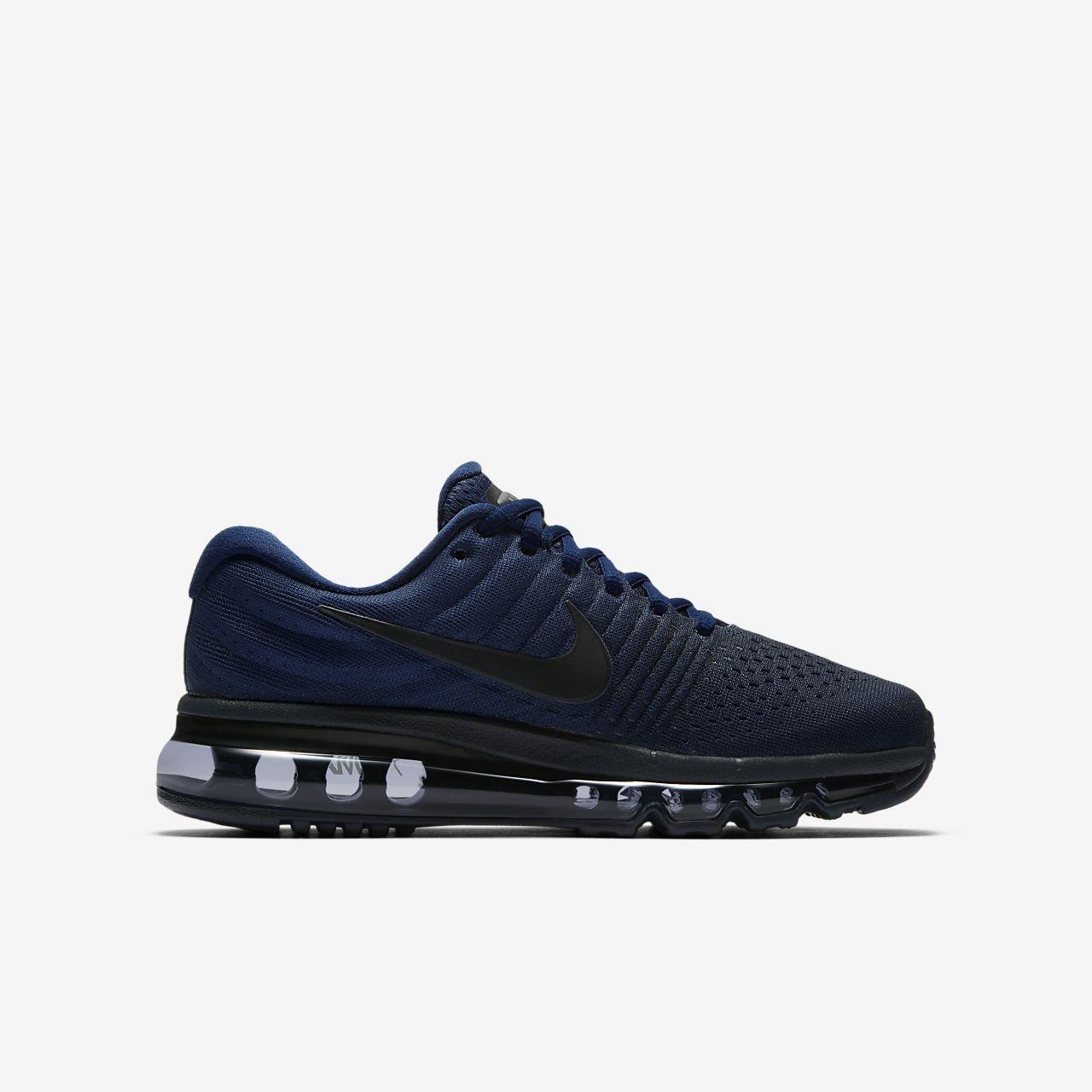 nike air max 2017 zwart blauw