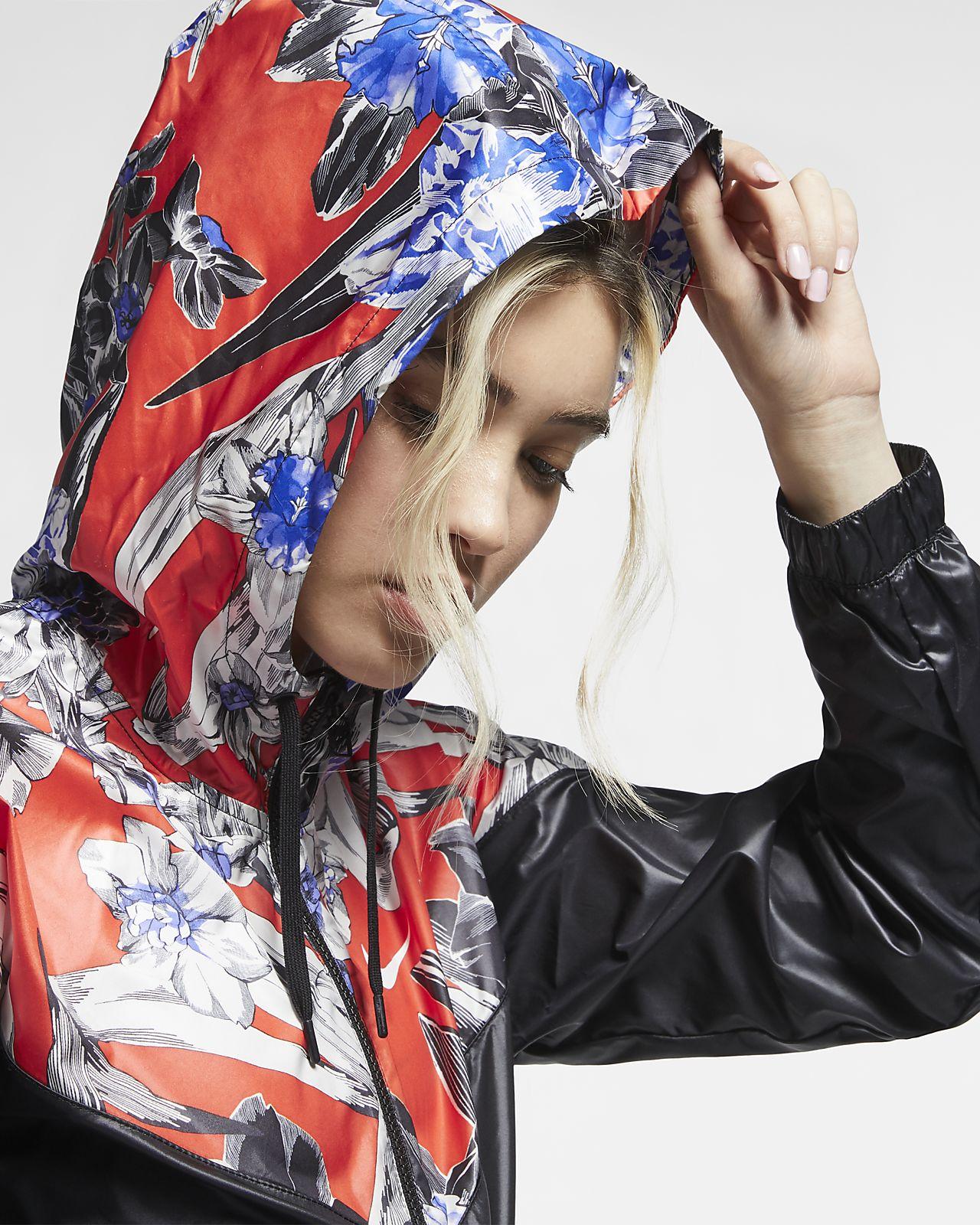 dd6878e3fb046 Nike Sportswear Windrunner Women's Cropped Floral Jacket. Nike.com NO