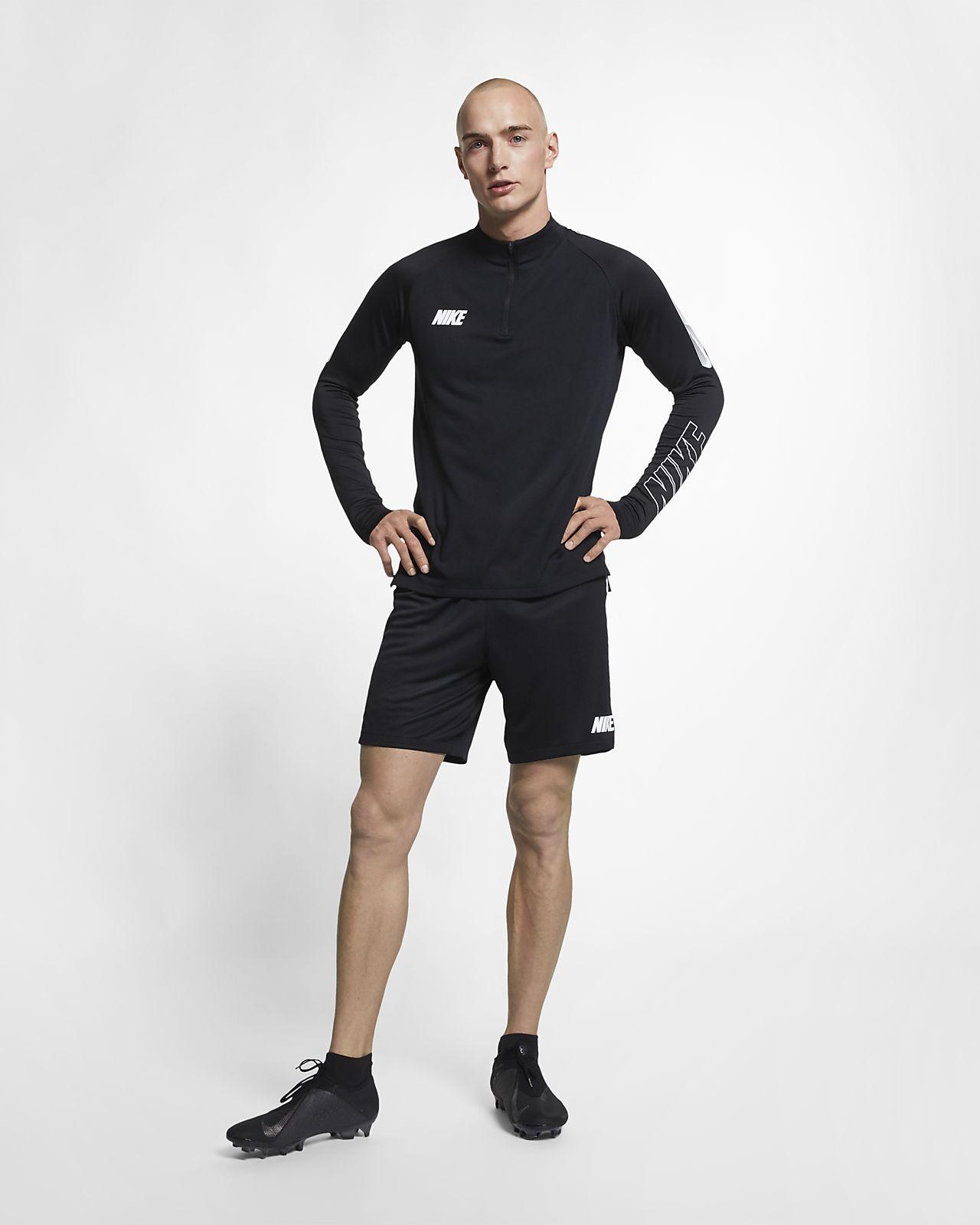Prenda para la parte superior de entrenamiento de fútbol para hombre Nike Dri-FIT Squad