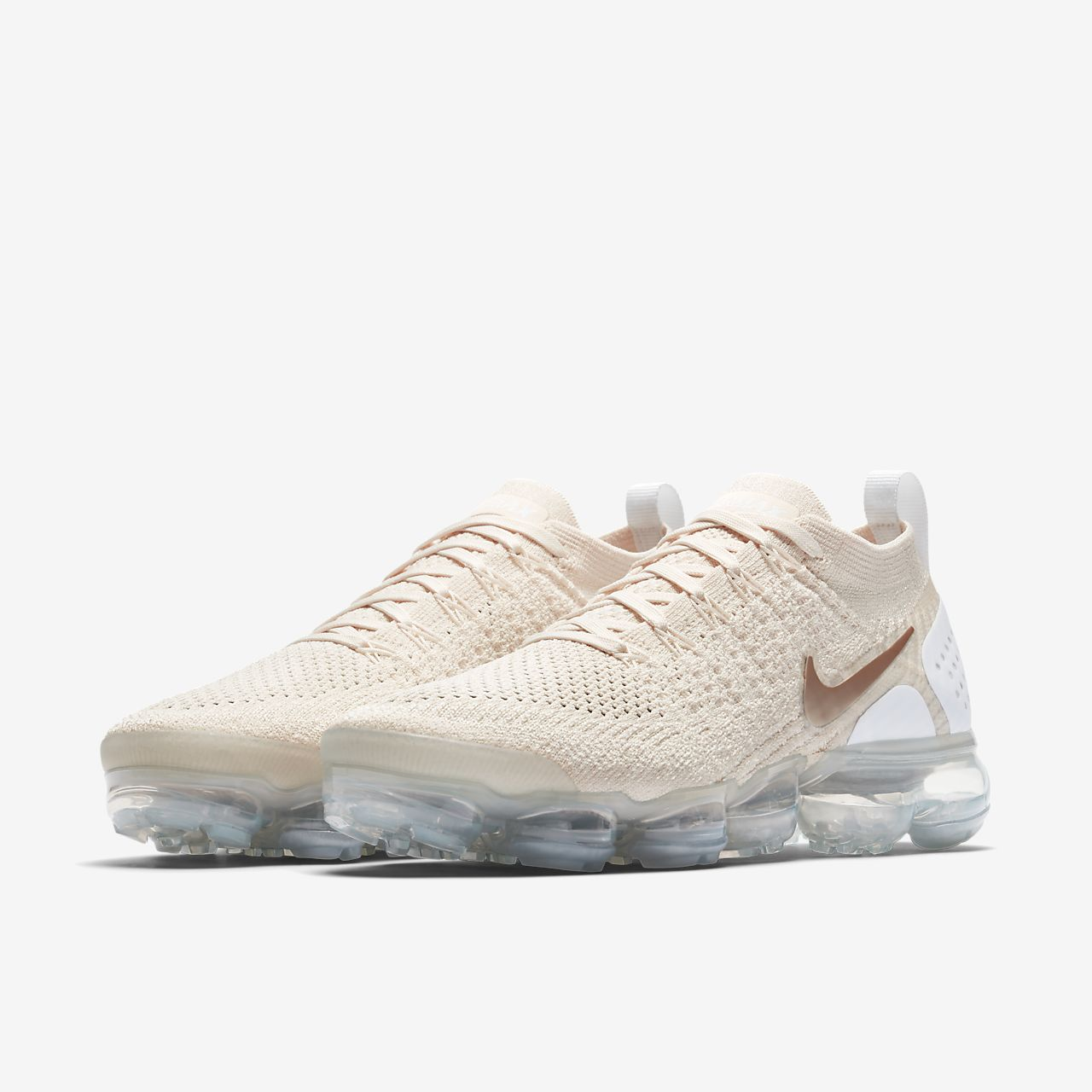 Nike Performance AIR VAPORMAX FLYKNIT 2 - Neutral running shoes - rust pink/storm pink/pink tint