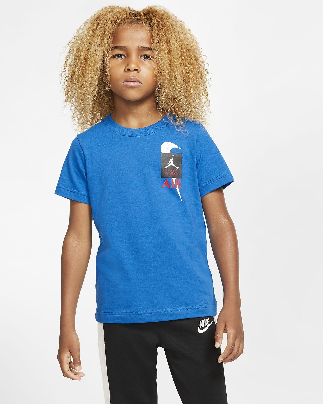 T-shirt z krótkim rękawem dla małych dzieci Air Jordan