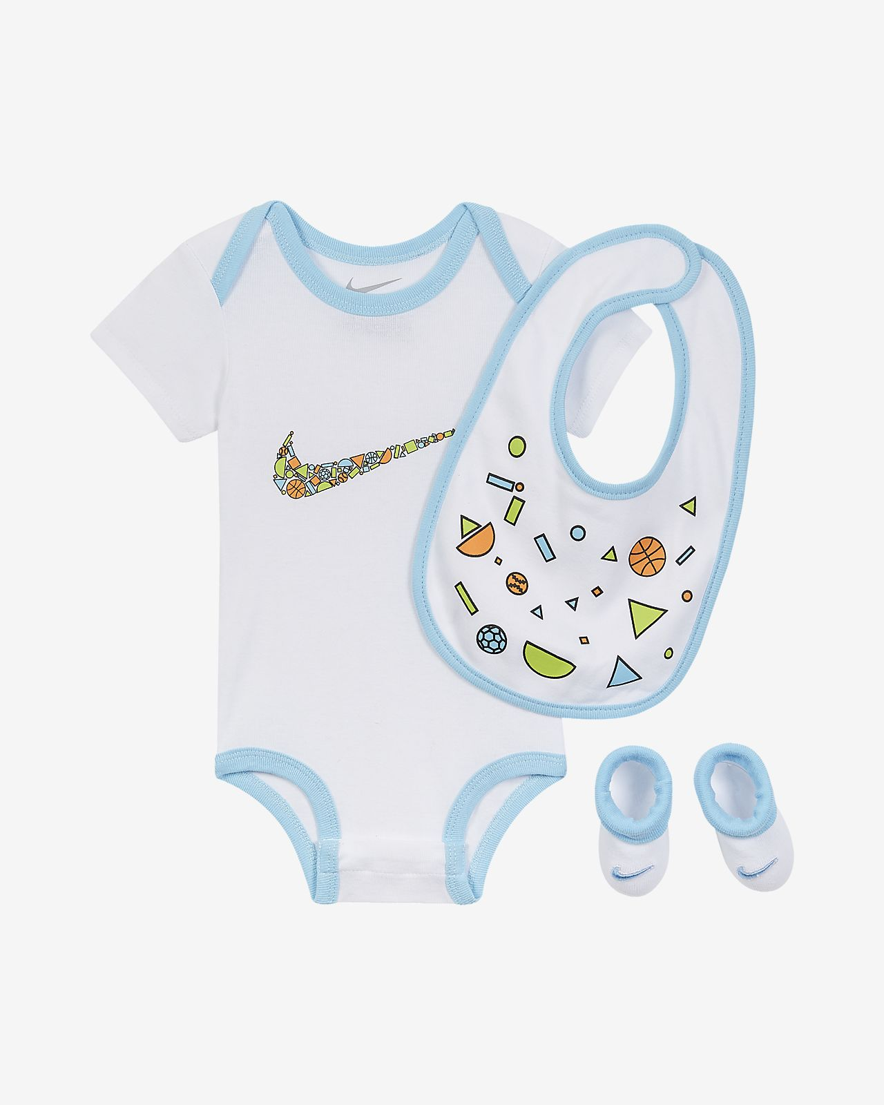 Σετ 3 τεμαχίων Nike για βρέφη (0-9M)