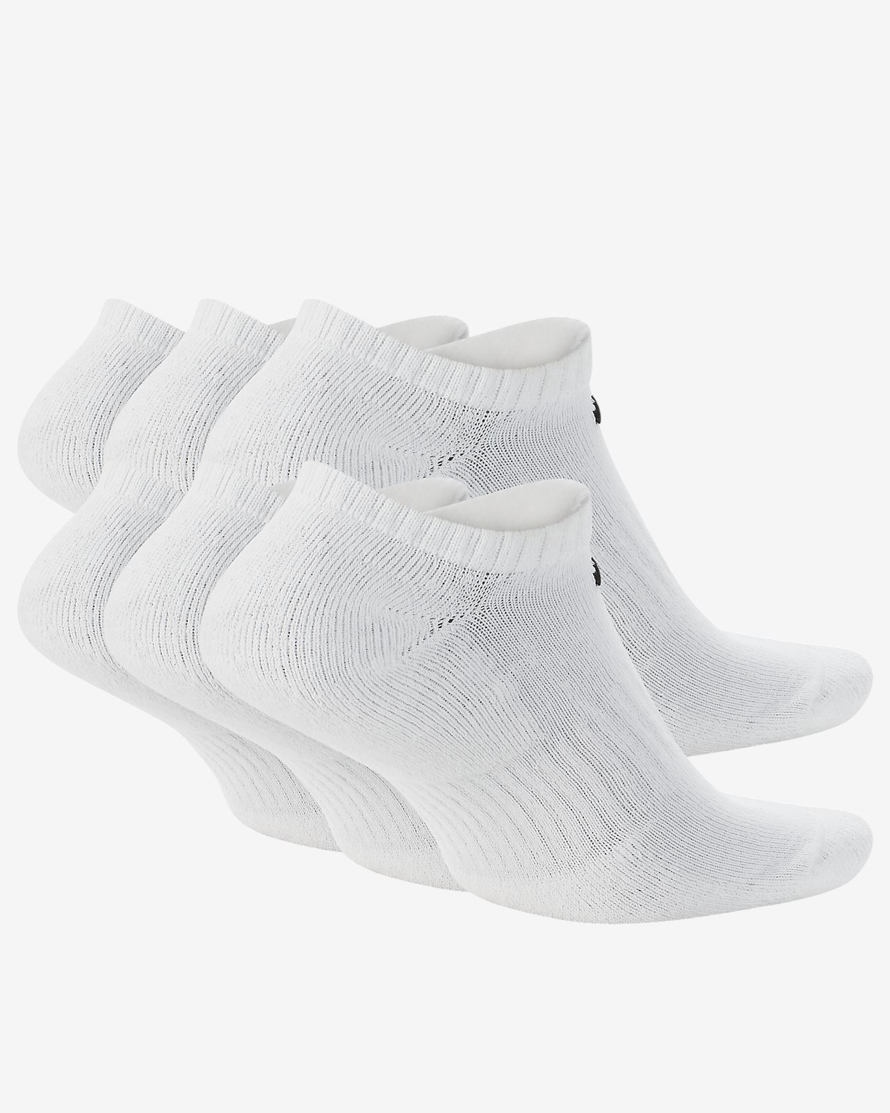 quality design eb9bf c0425 ... Nike Everyday Cushion No-Show Training Socks (6 Pair)