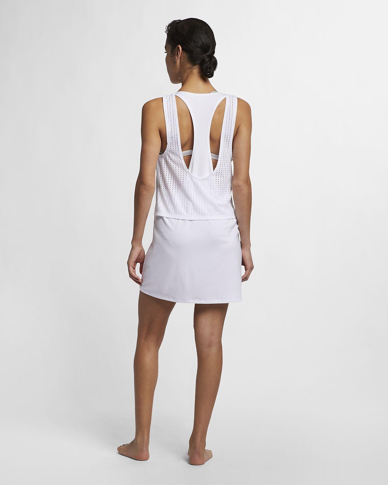10472e7ee81 Nike Sport Mesh Cover-Up Women's Reversible Layered Dress. Nike.com