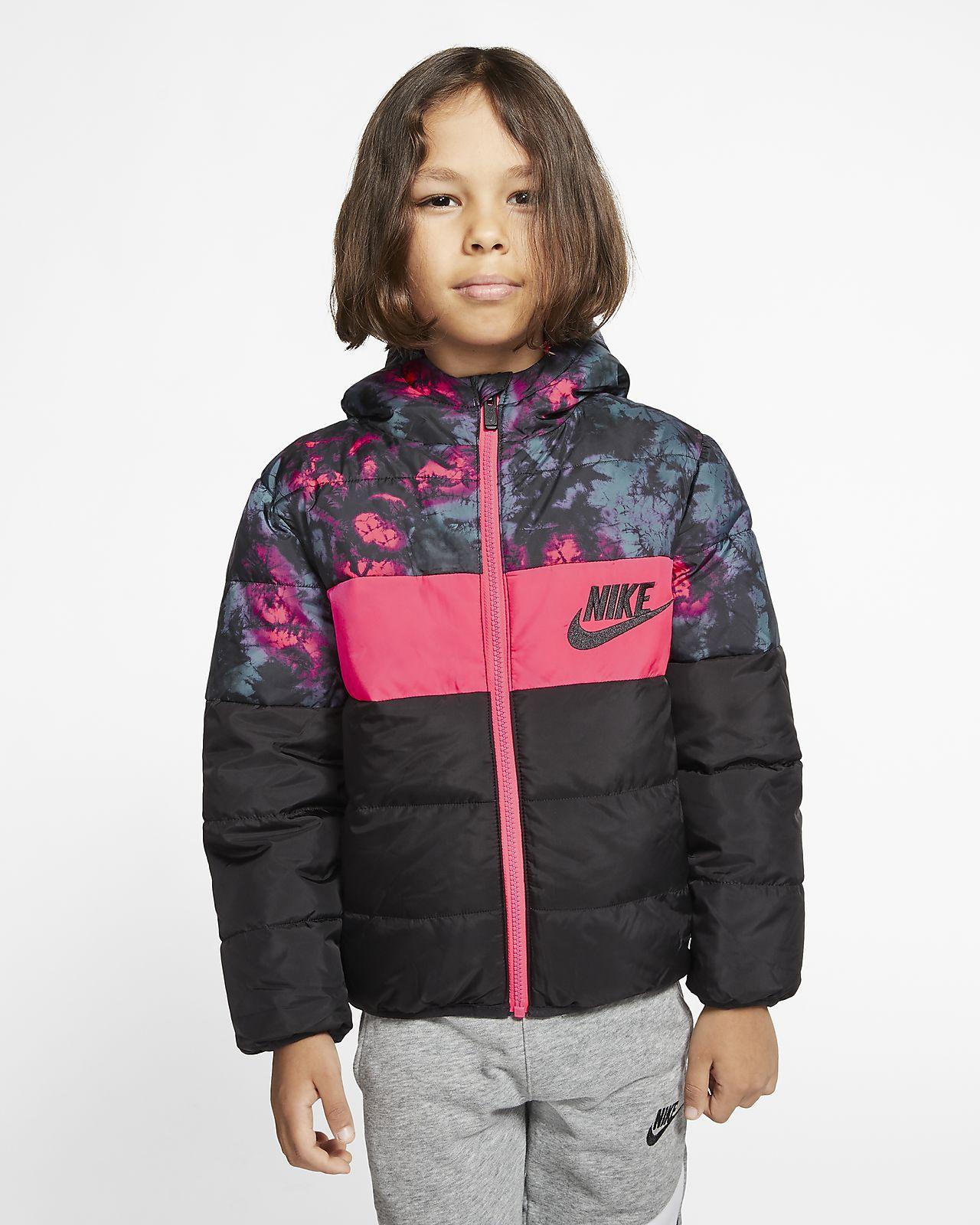 Μπουφάν με φερμουάρ σε όλο το μήκος Nike Sportswear για μικρά παιδιά