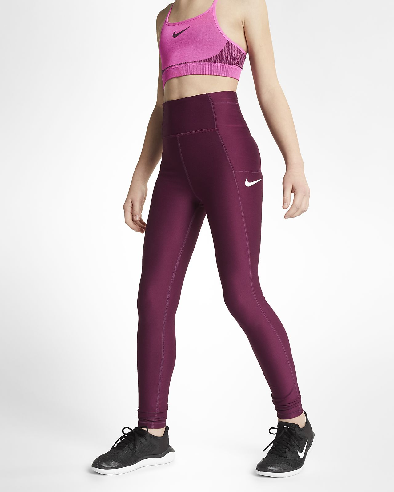 Nike Big Kids' (Girls') Training Tights
