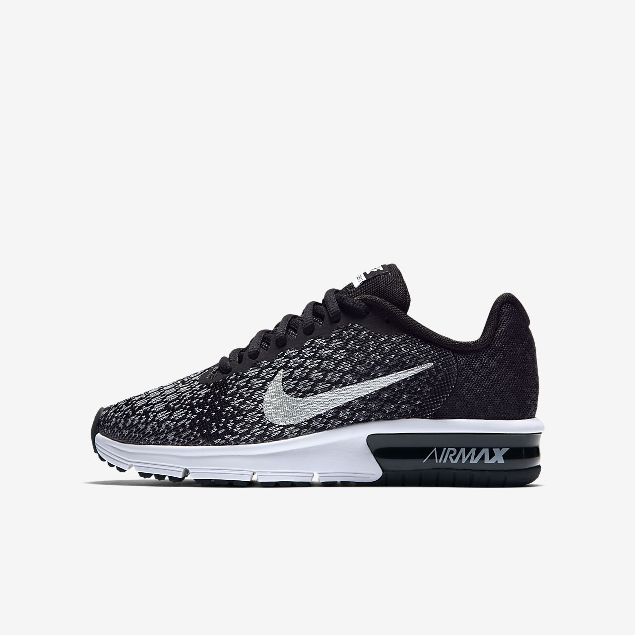 083393773452c Nike Air Max Sequent 2 Older Kids  Running Shoe. Nike.com GB