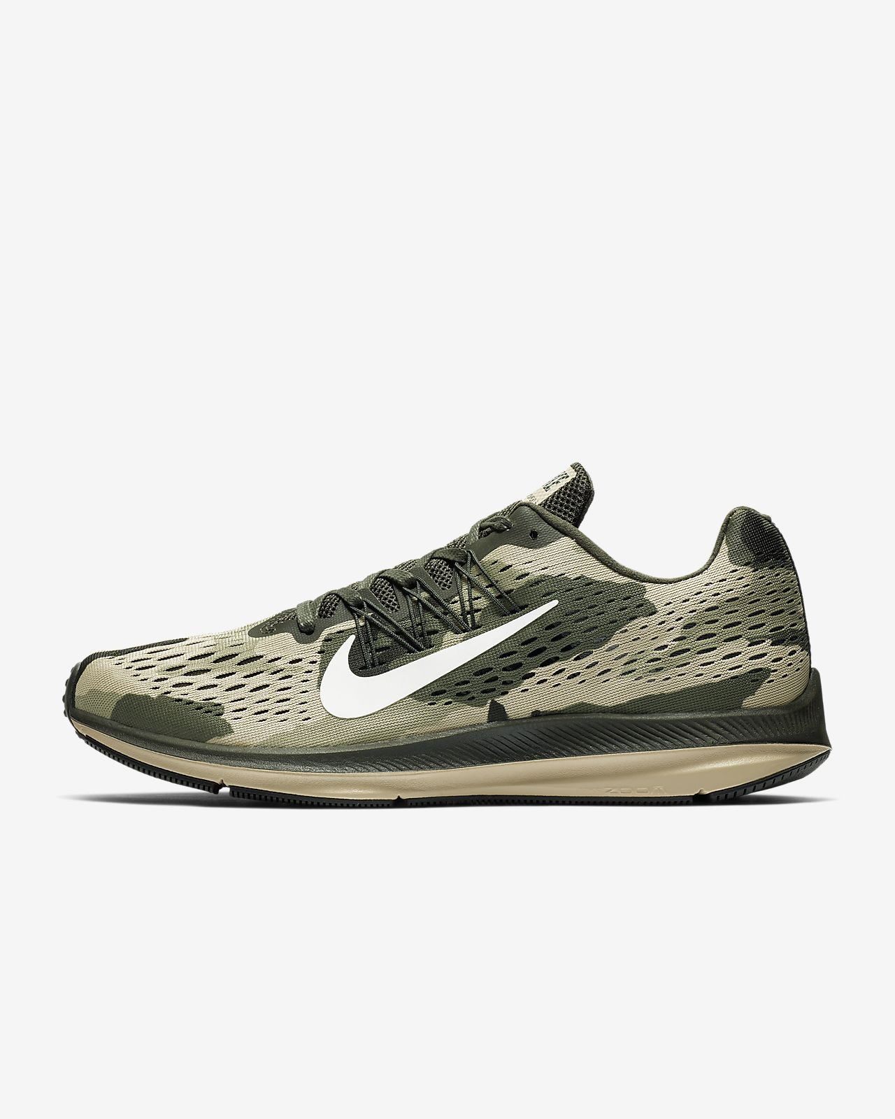 best website 70743 03441 De Chaussure Winflo 5 Zoom Air Pour Homme Camo Running Nike Be UdFdr