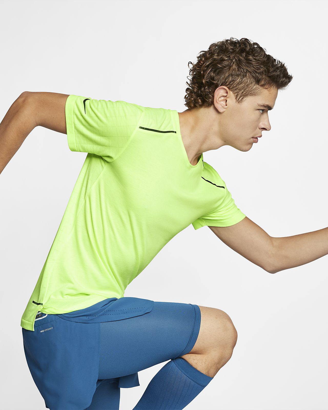 Męska koszulka do biegania Nike Tech