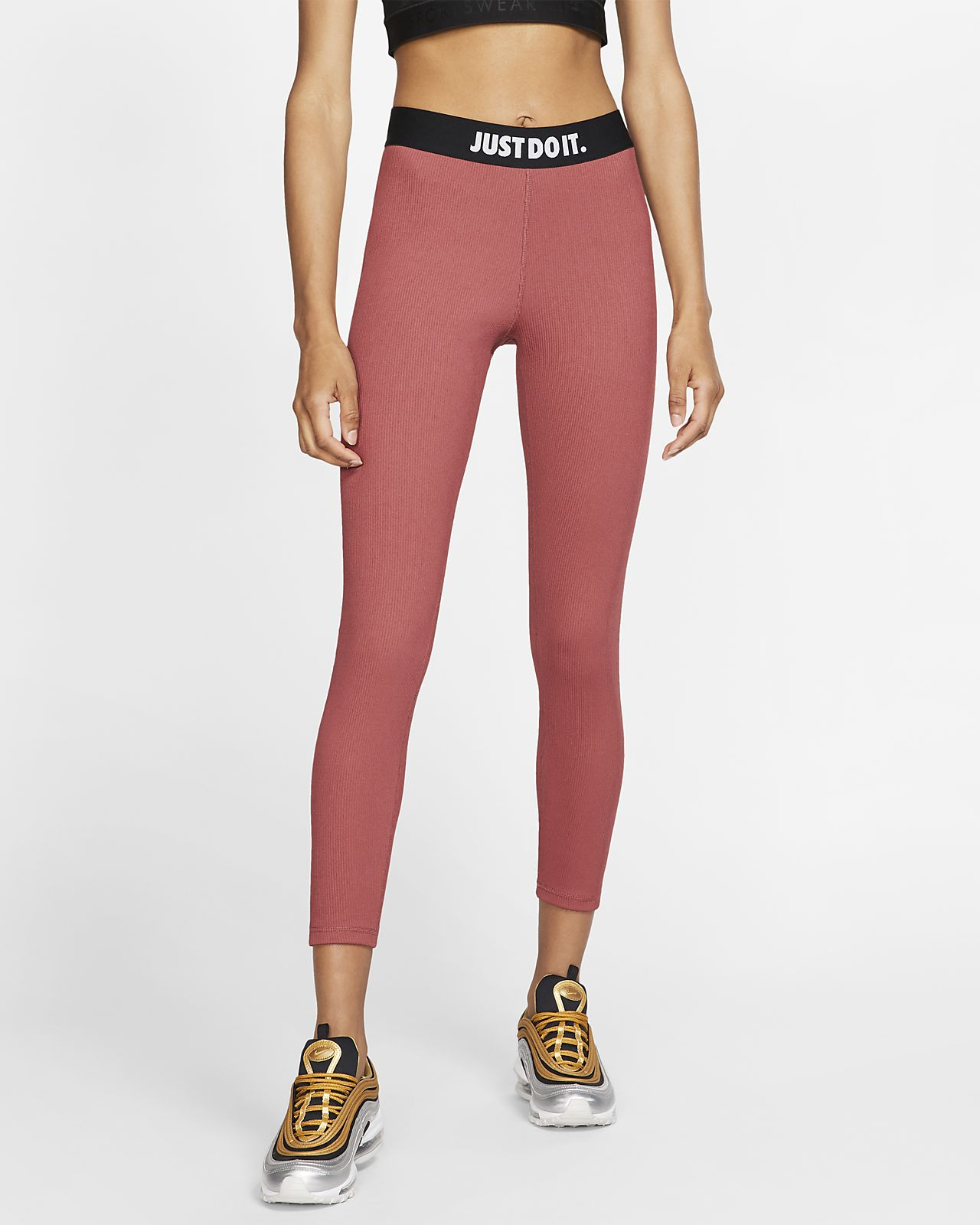 Nike Sportswear bordázott JDI női leggings