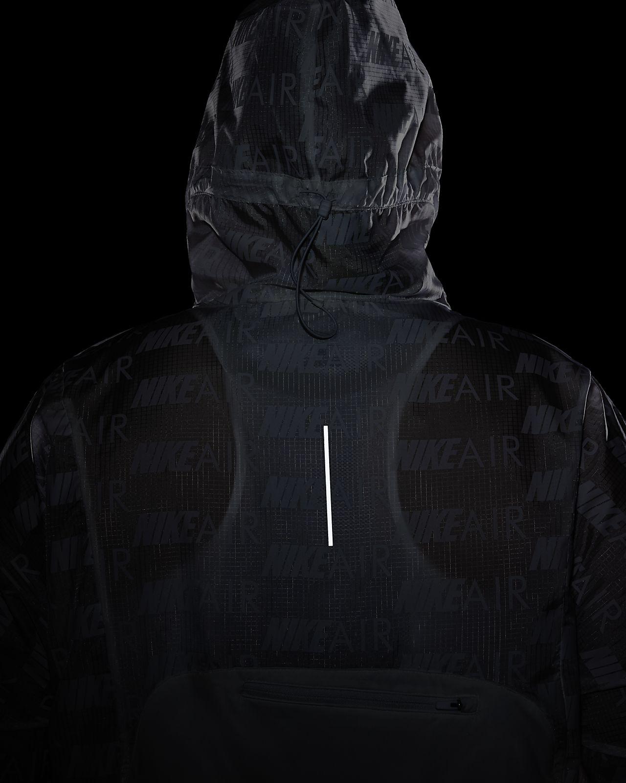 Nike Air Damen Laufjacke mit Kapuze (große Größe)