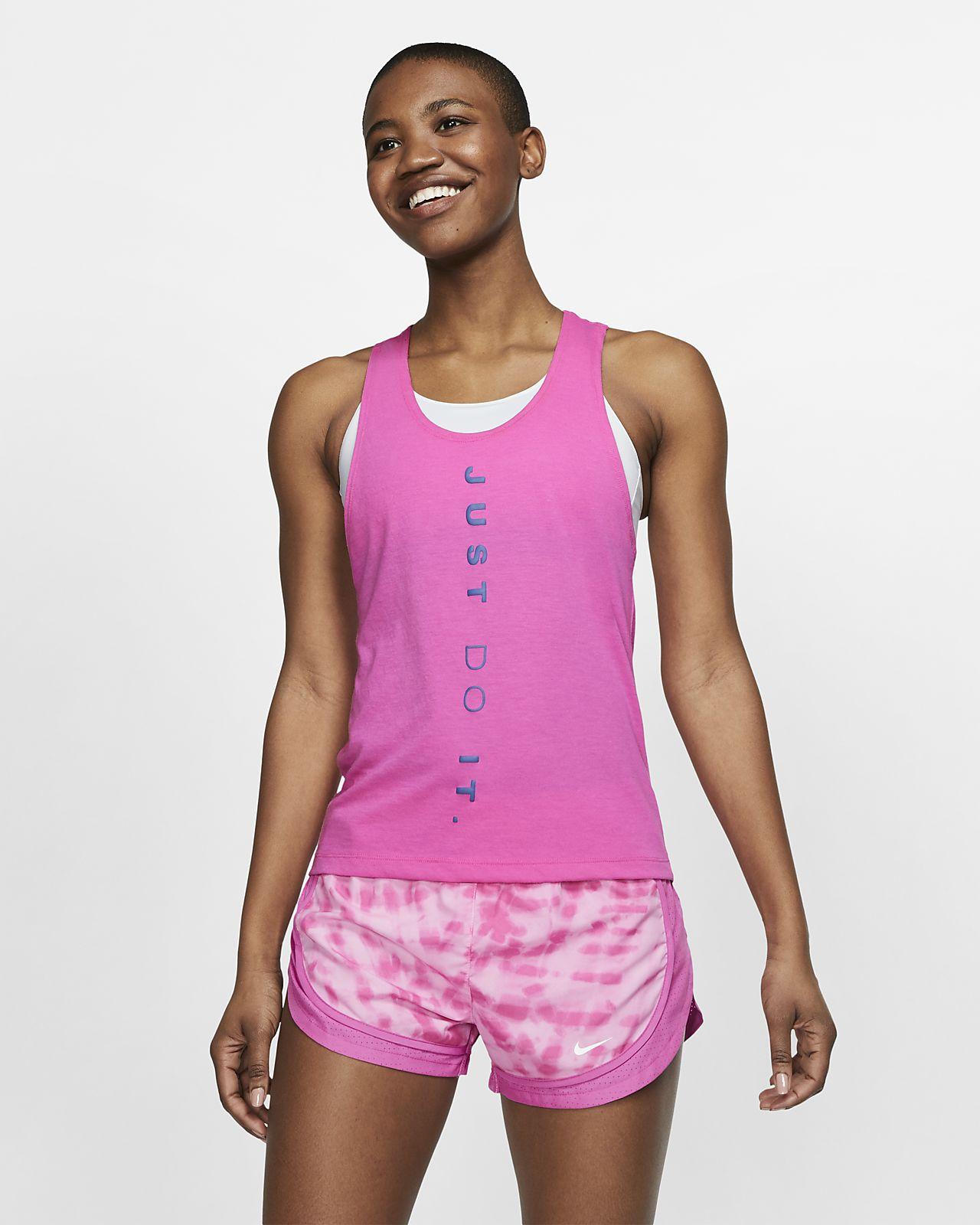 wie kommt man neue auswahl am besten geliebt Nike Dri-FIT Miler Lauf-Tanktop für Damen