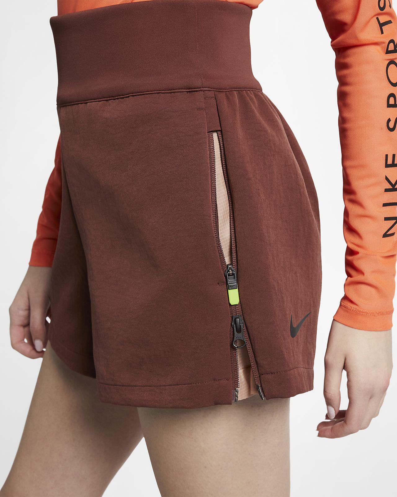 Shorts tejidos para mujer Nike Sportswear Tech Pack