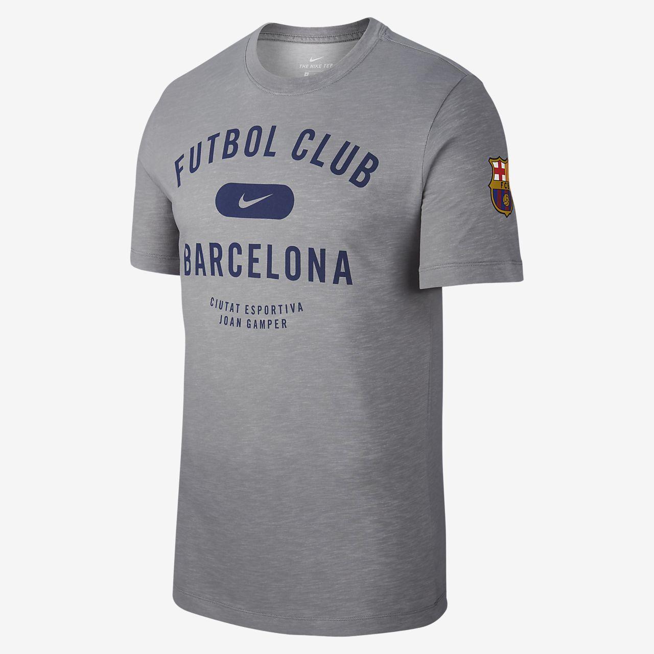 Tee-shirt de football Nike Dri-FIT FC Barcelona pour Homme