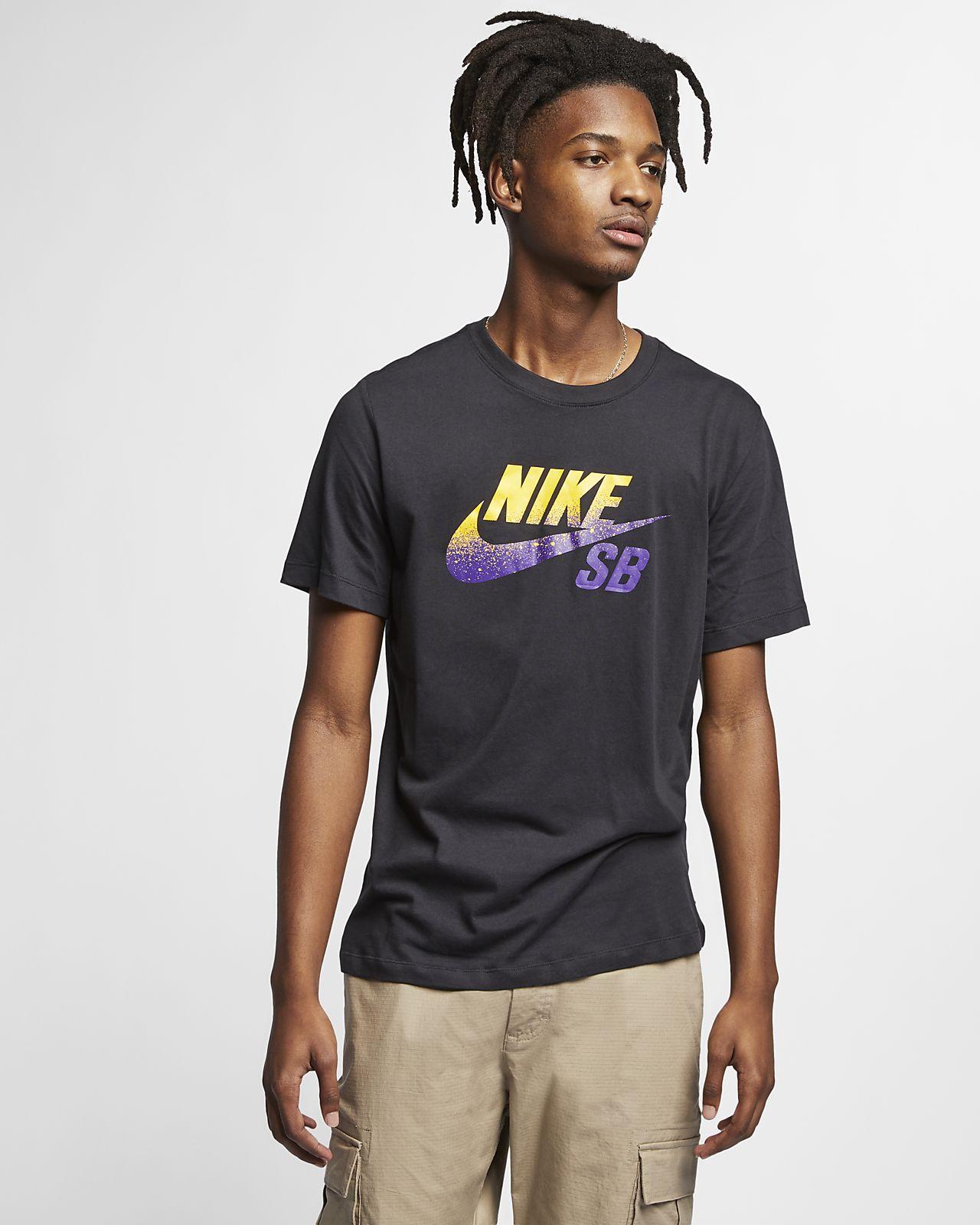 Nike SB Dri-FIT Skateshirt met logo voor heren