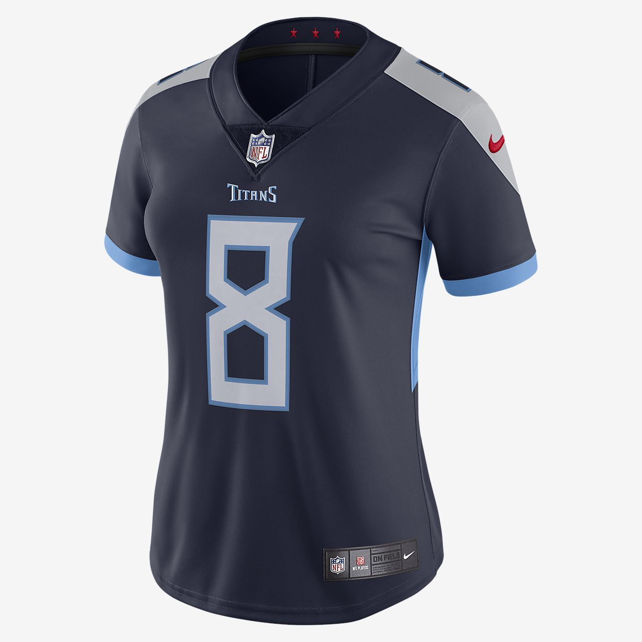 NFL Tennessee Titans (Marcus Mariota) Women s Football Home Limited ... 5fef4c209