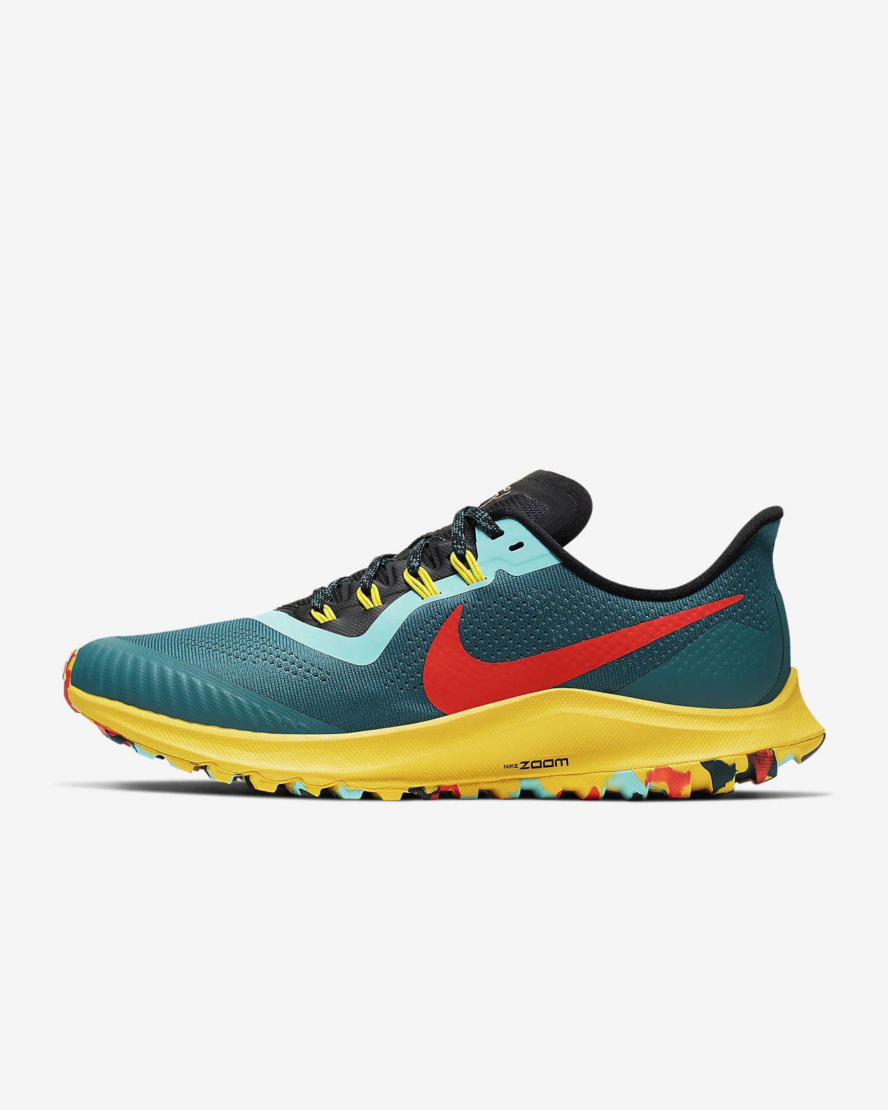 muchos de moda diversificado en envases código promocional Nike Zoom Pegasus 36 Trail Gtx Swart Sportamore