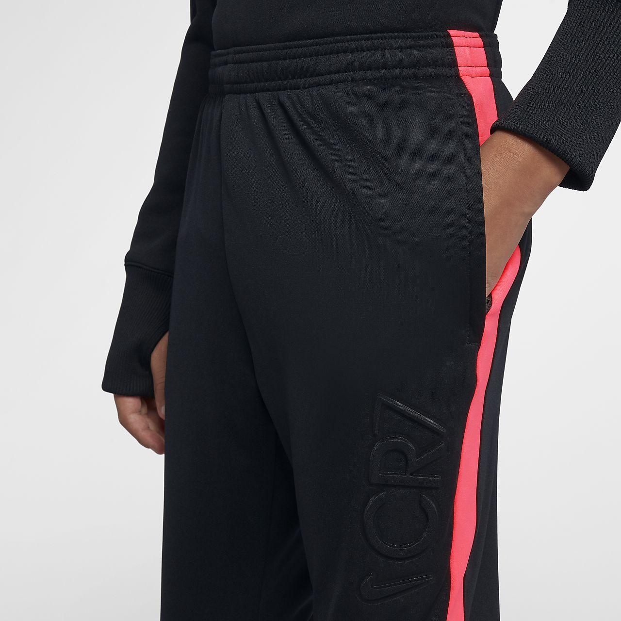 Pantalones de fútbol para niño talla grande Nike Dri-FIT CR7. Nike ... 79b9016af970
