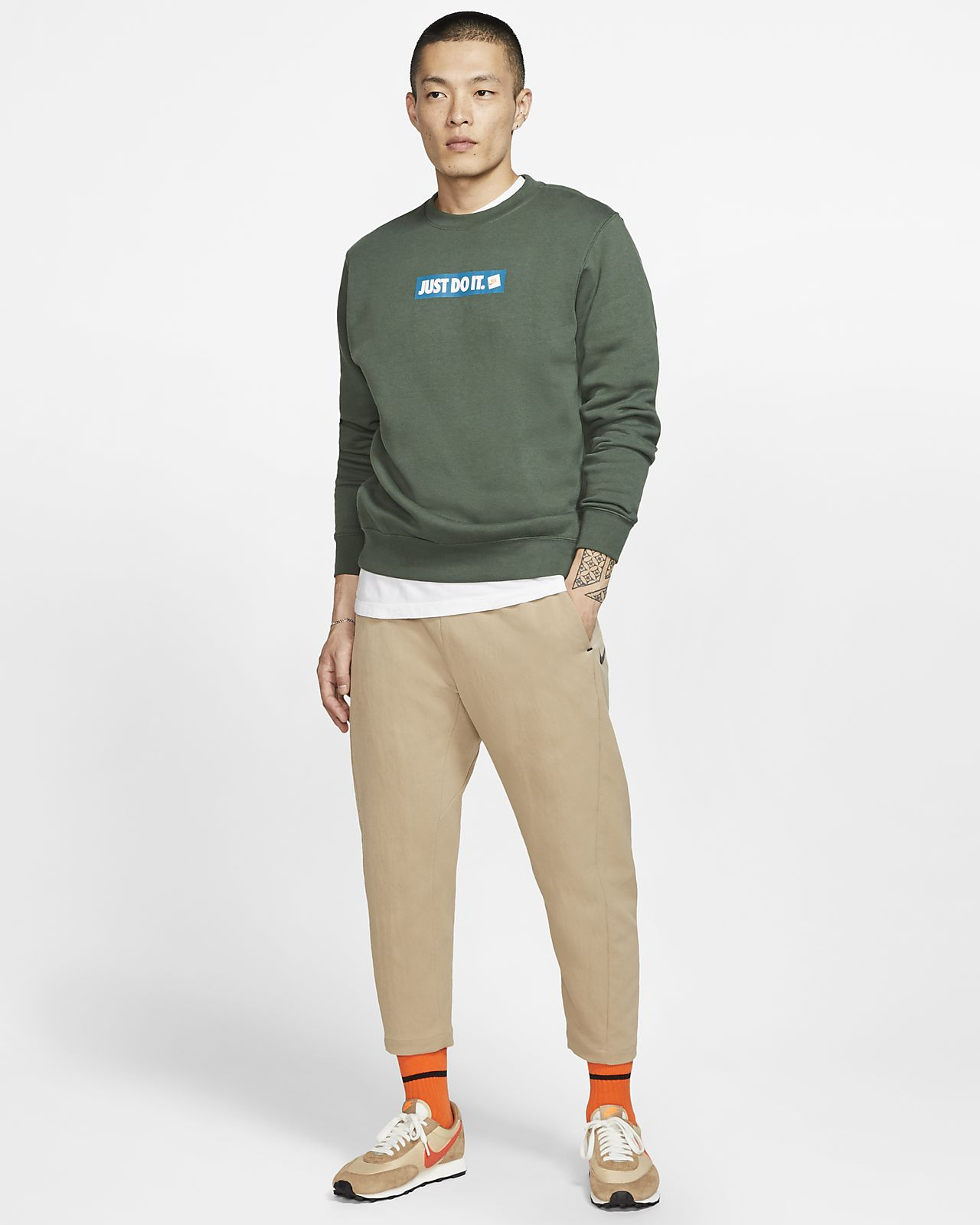 Nike Sportswear Men's JDI Fleece Crew