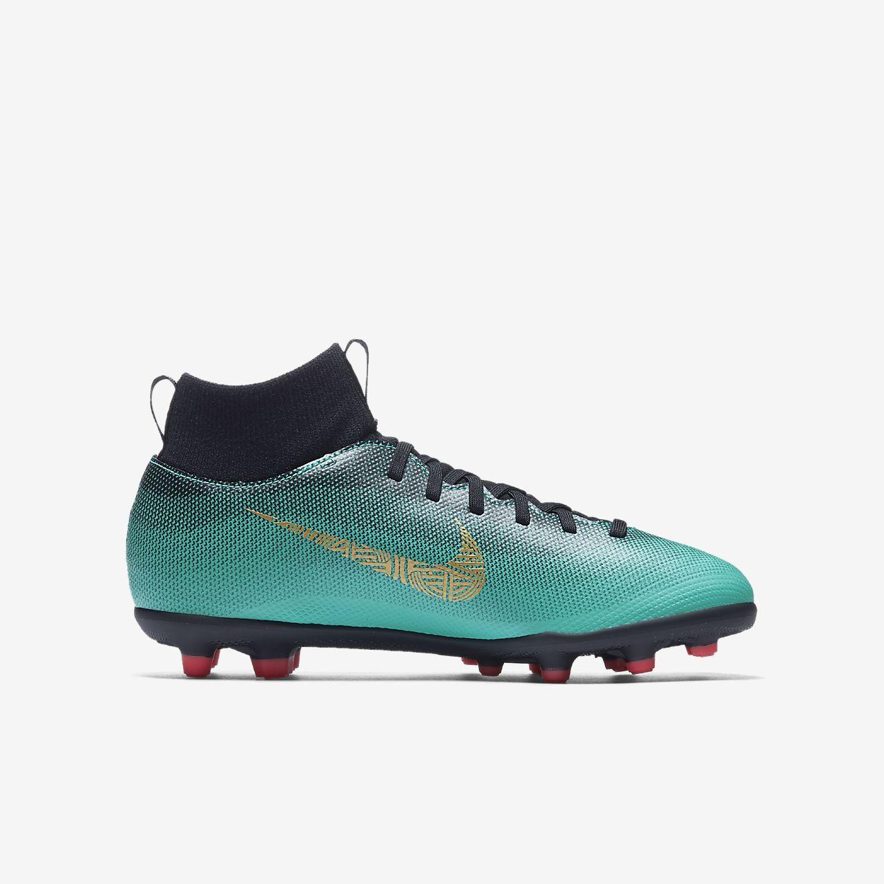 Nike Scarpe Calcio Football Superfly 6 Academy CR7 MG Verde con calzino 2018 Nueva En Venta U1hQ8GmuK