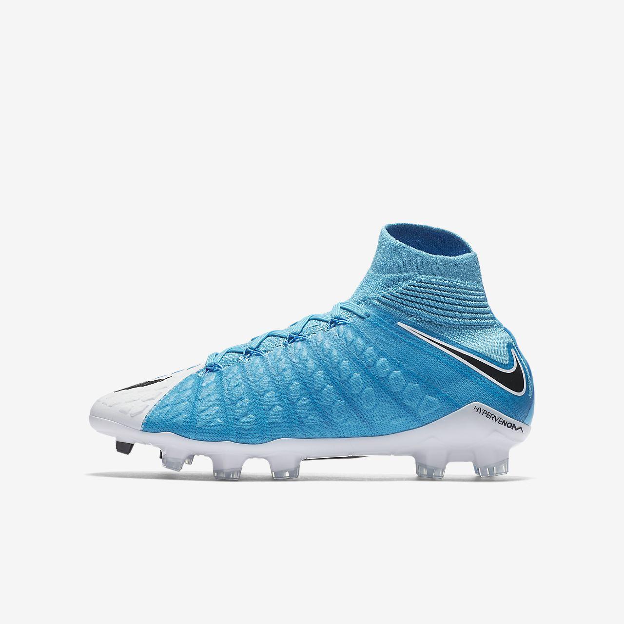 newest 8aec3 9eef2 nike hypervenom kids football boots