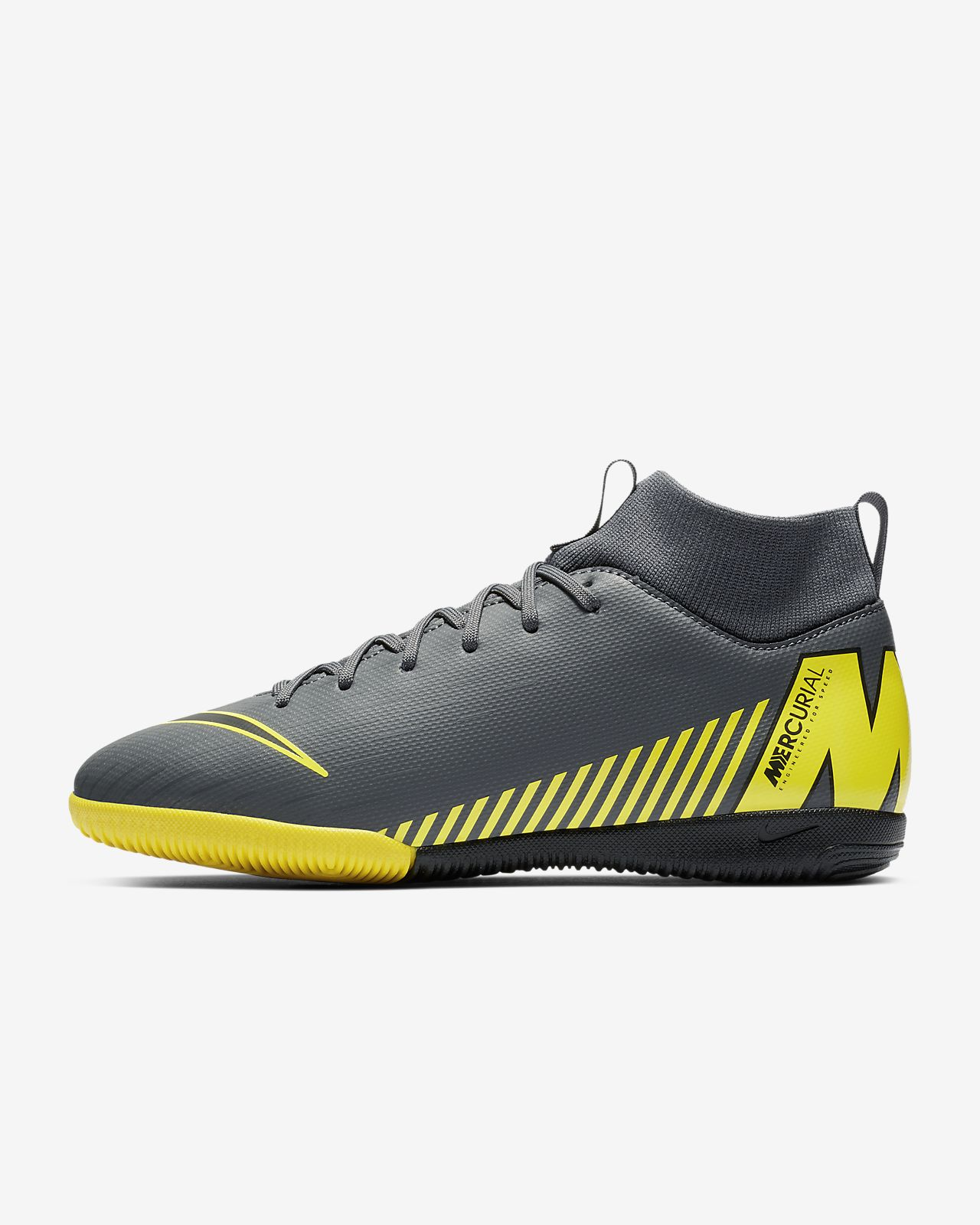 Nike Jr. SuperflyX 6 Academy IC fotballsko til innendørsbane/gate til små/store barn