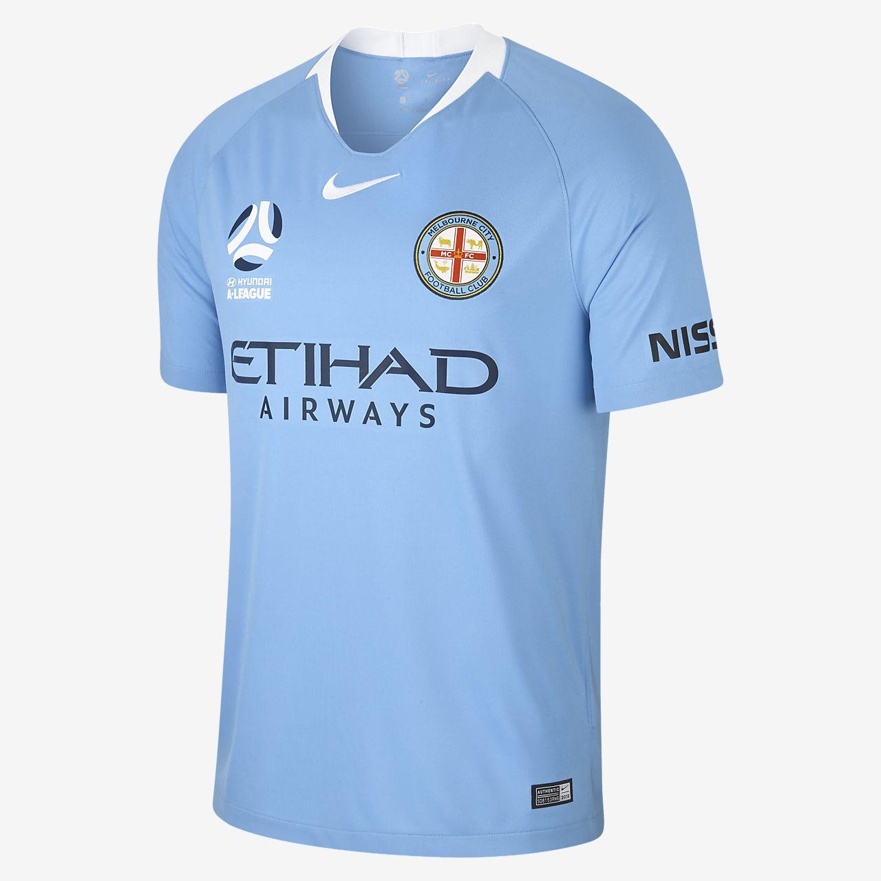 ... Camiseta de fútbol para hombre de local Stadium del Melbourne City FC  2018 19 94e90e7b0a1