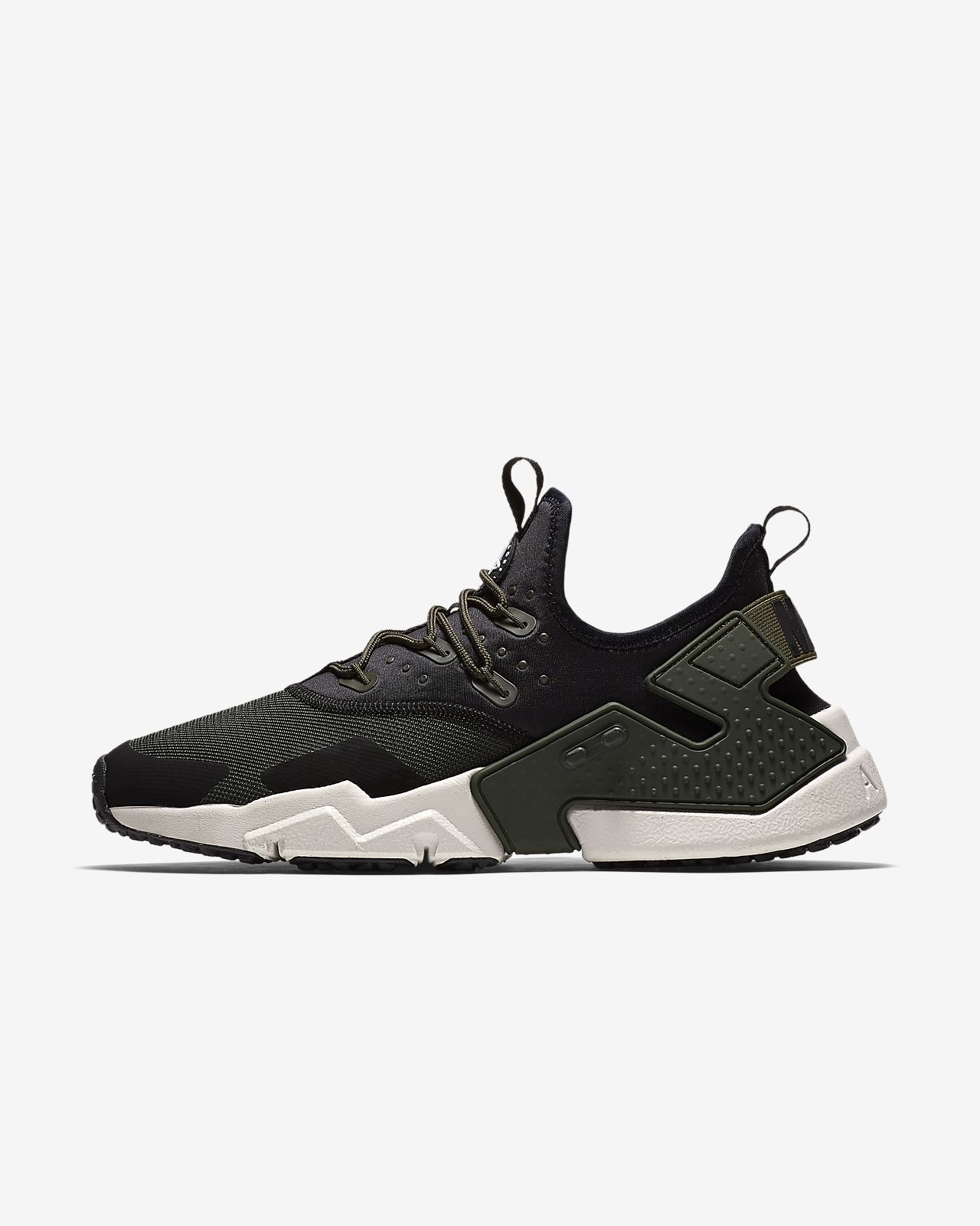 nike air max huarache triple black nz