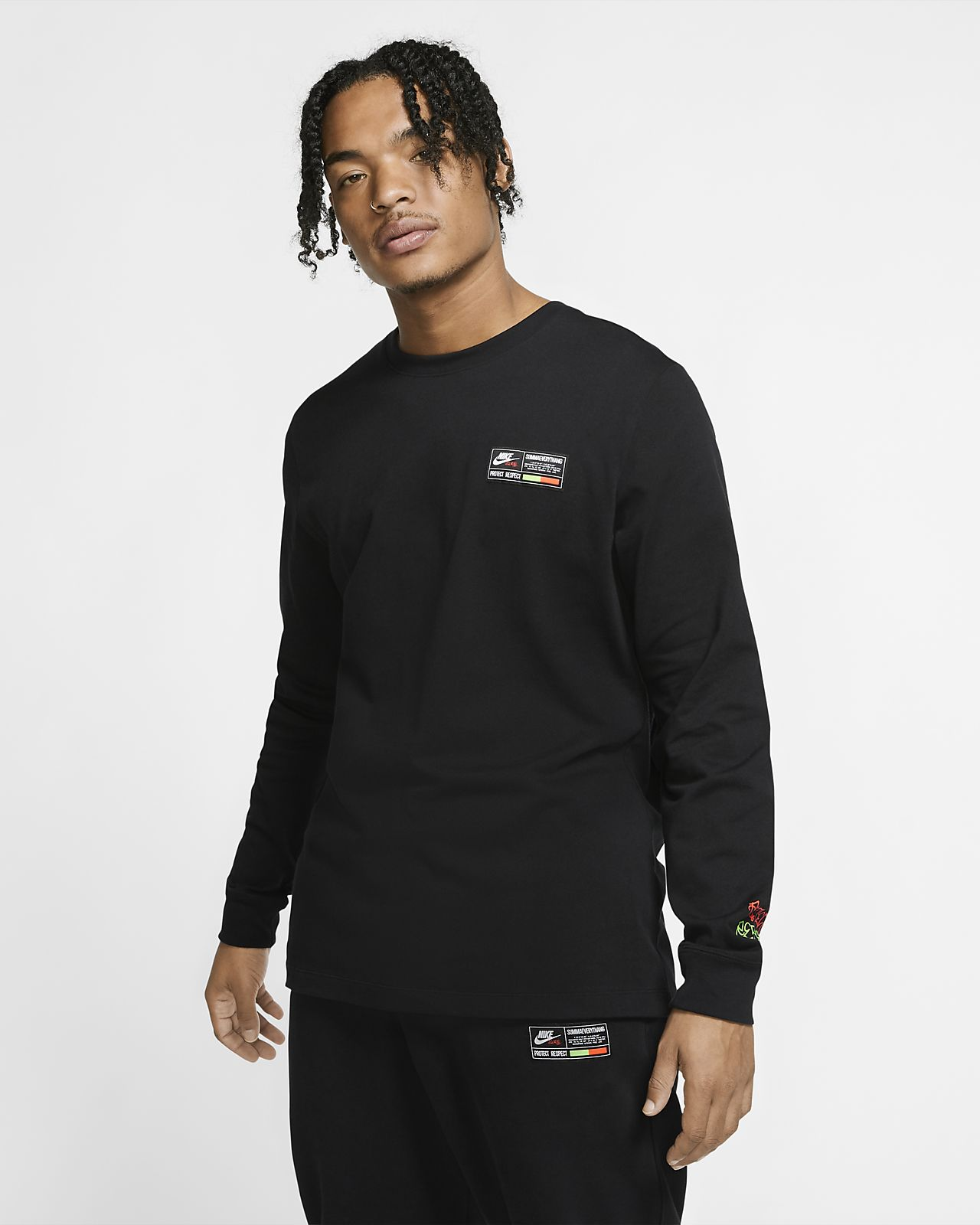 Nike Sportswear Men's Los Angeles Long Sleeve T Shirt