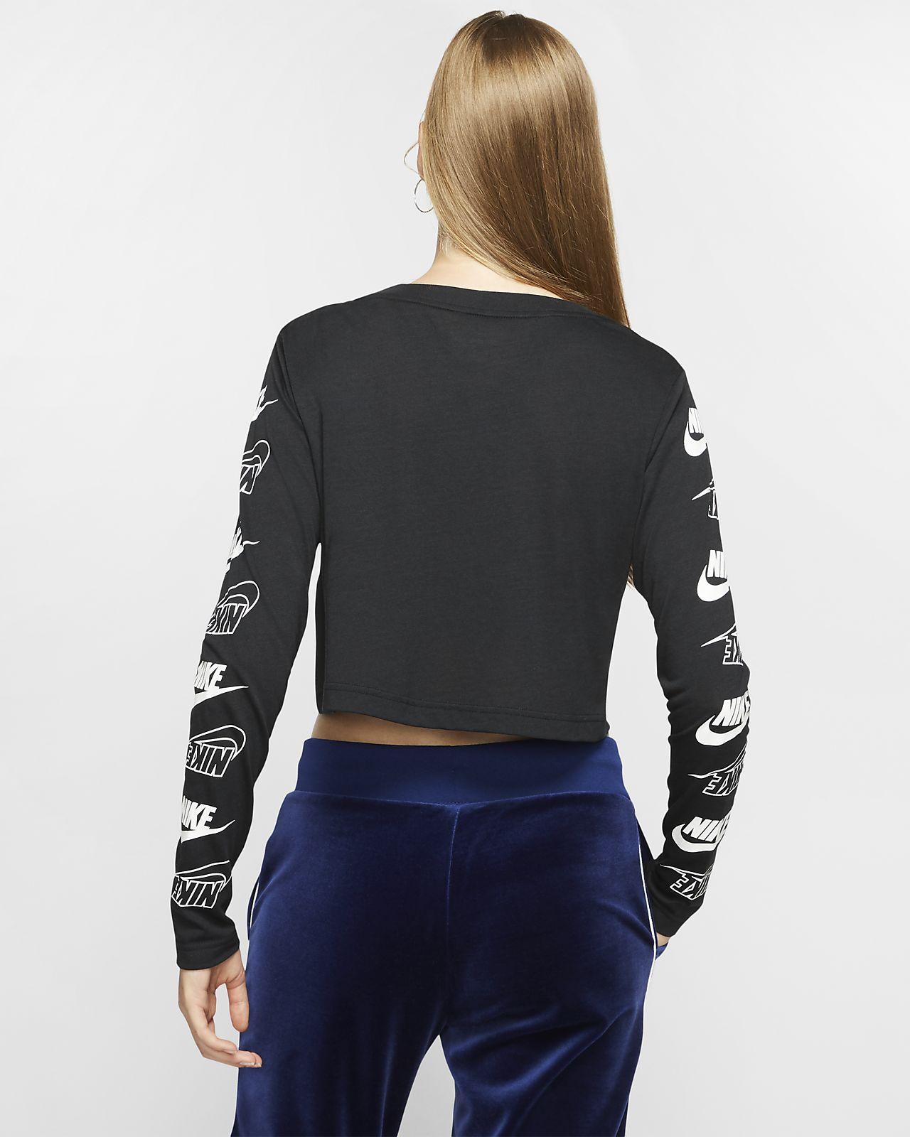 c813dfe5fac955 Nike Sportswear T-shirt met lange mouwen voor dames. Nike.com NL