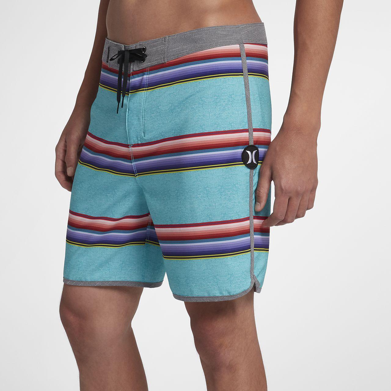 Shorts de playa de 46 cm para hombre Hurley Phantom Serape
