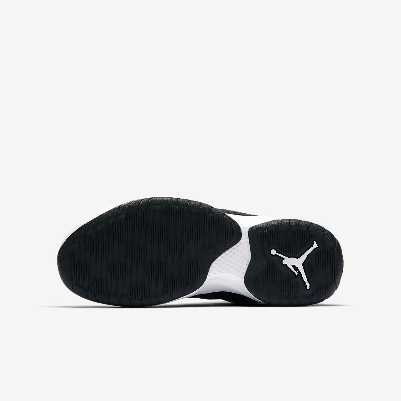 Norge 2020 Nike Barn Lebron Soldier Xii Basketball Sko Svart