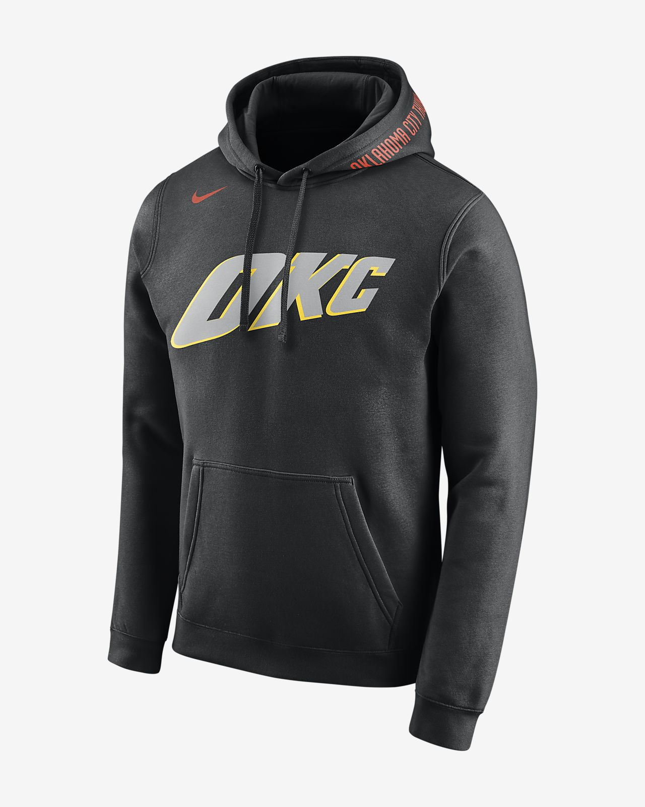 Oklahoma City Thunder City Edition Nike Men's NBA Hoodie