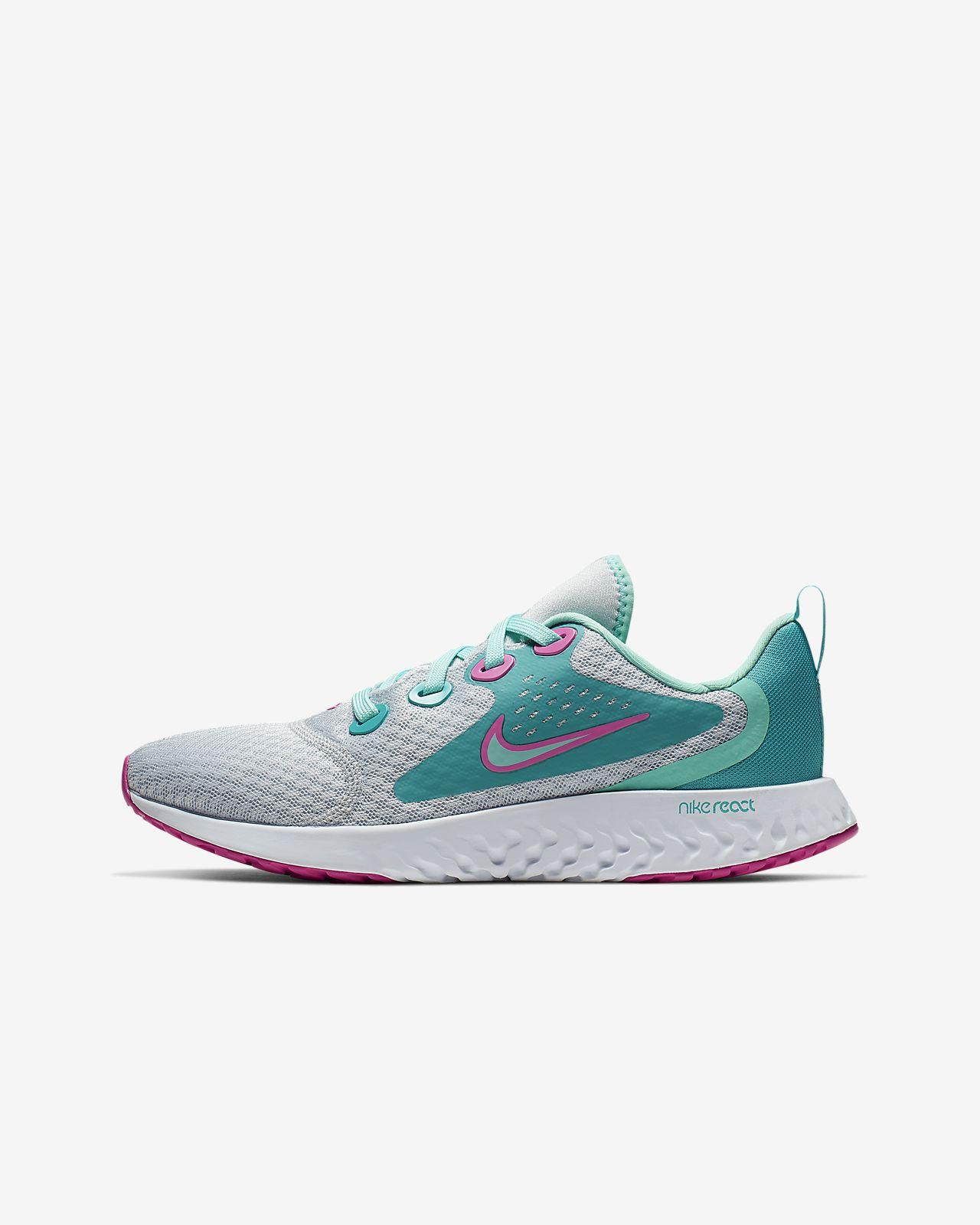 Nike Legend React Aqua Laufschuh für ältere Kinder