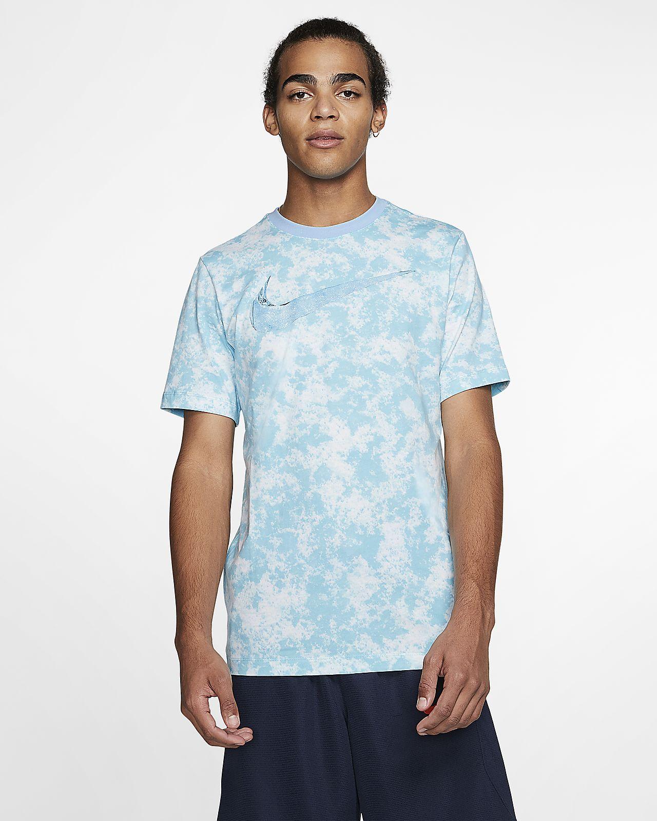 Męski T-shirt do koszykówki z nadrukiem Nike Dri-FIT