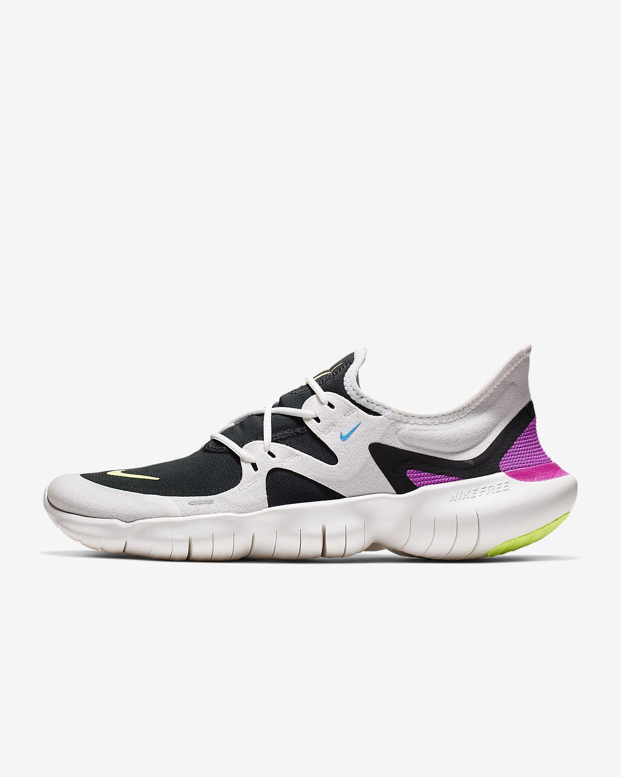 Nike FREE 5.0 FLASH Natural Running Schuhe Damen schwarz
