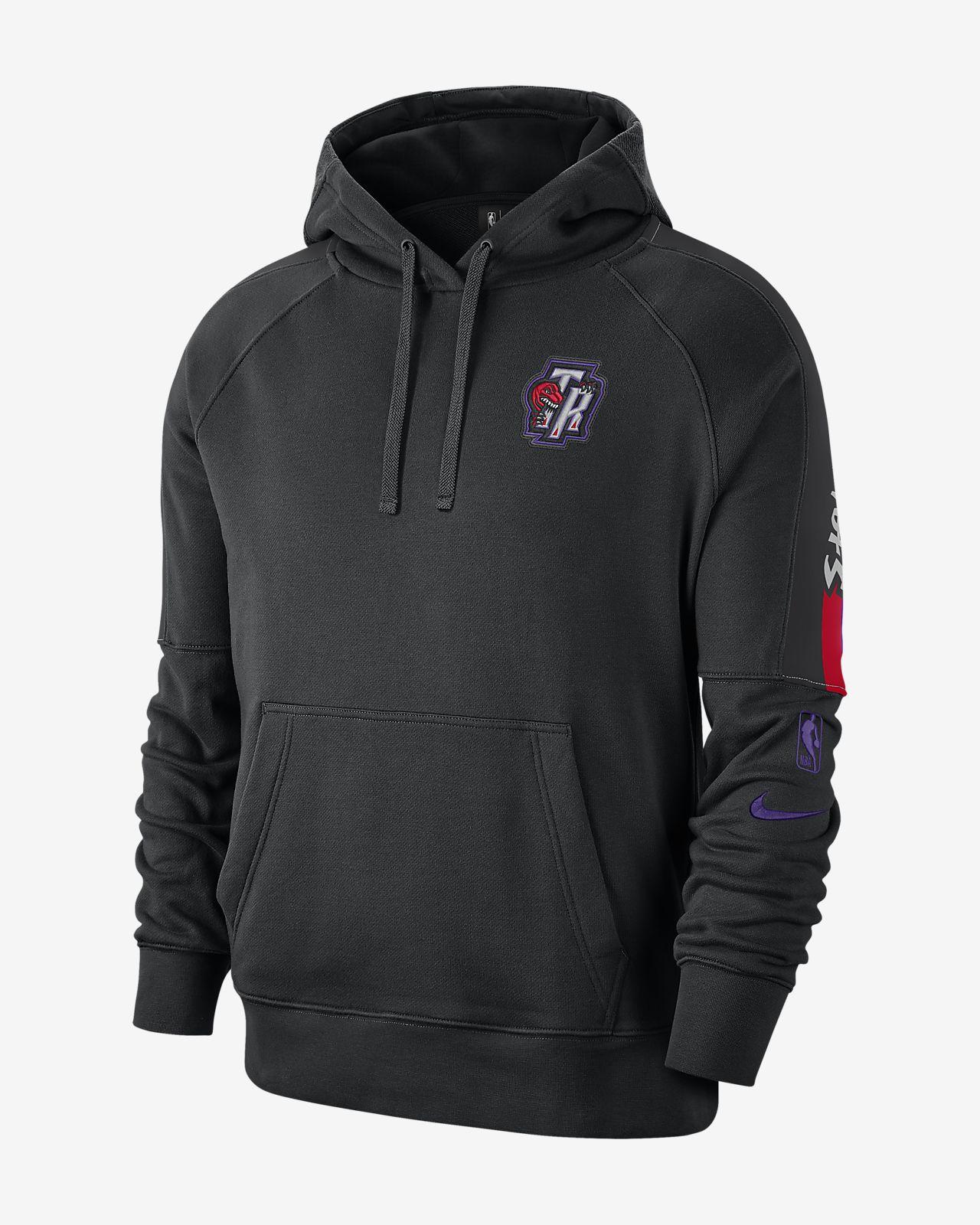 Raptors Courtside Classic Edition Nike NBA-hoodie voor heren